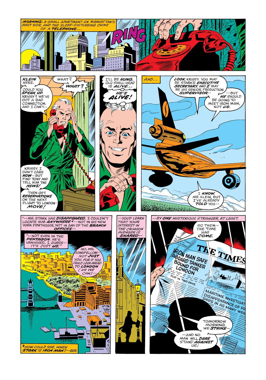 Read online Marvel Masterworks: The Invincible Iron Man comic -  Issue # TPB 11 (Part 3) - 52