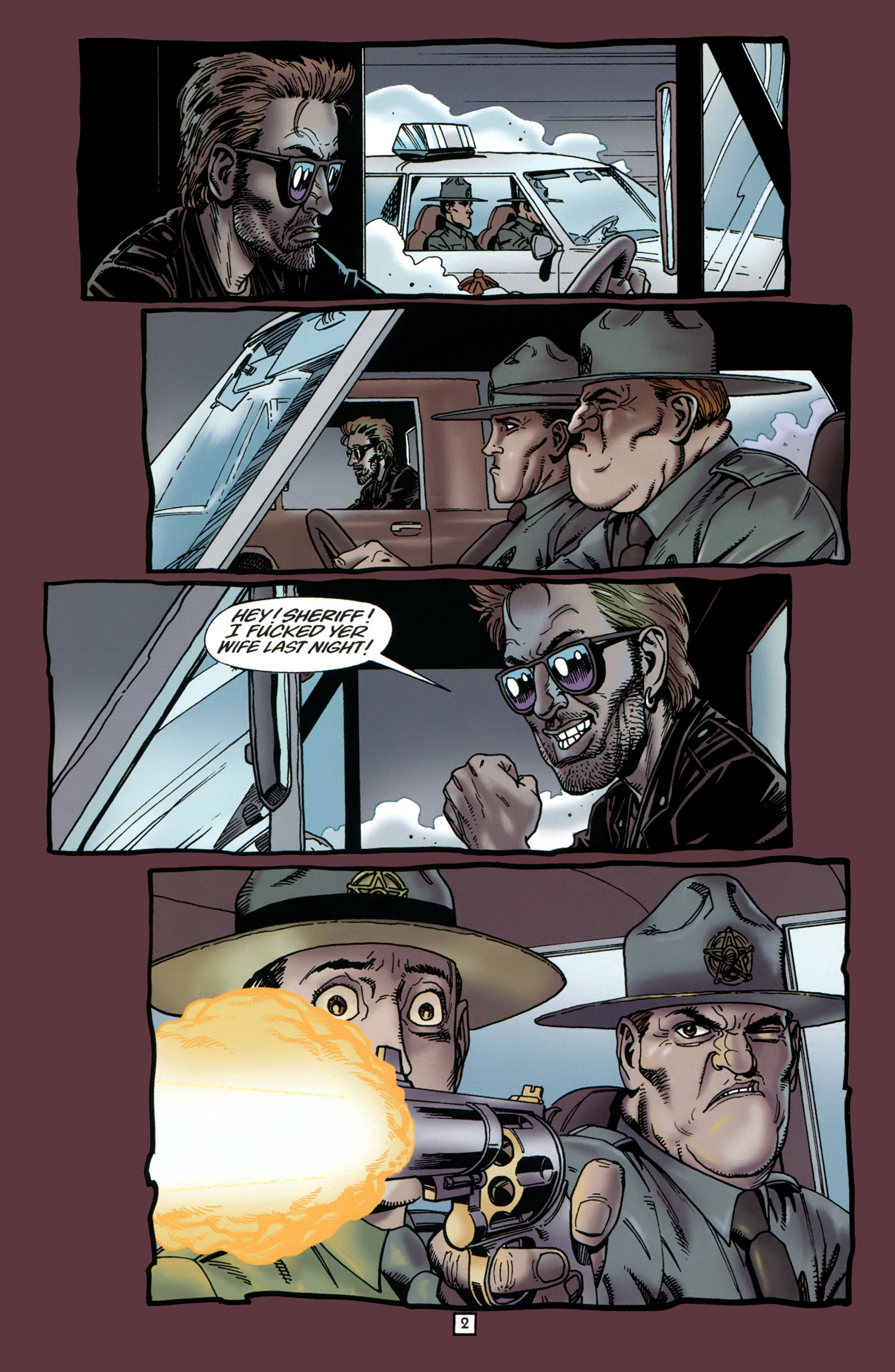 Read online Preacher Special: Cassidy : Blood and Whiskey comic -  Issue # Full - 4