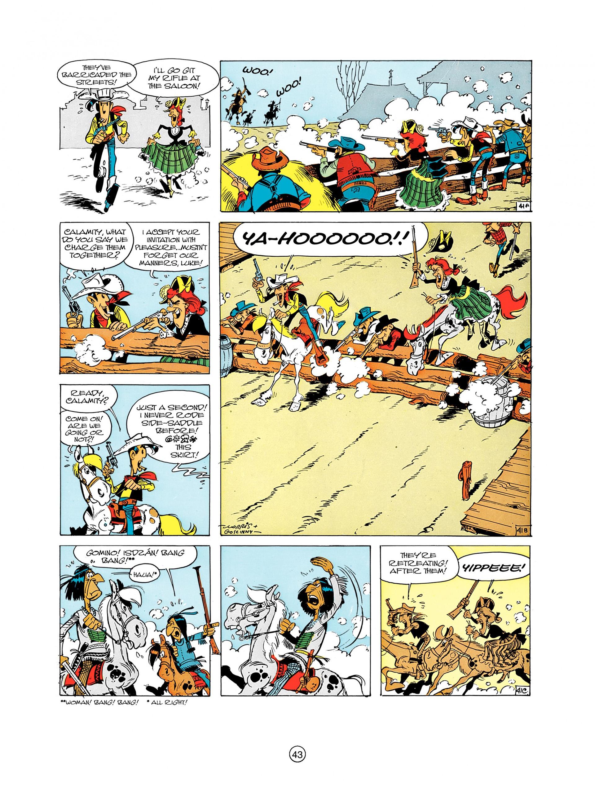 Read online A Lucky Luke Adventure comic -  Issue #8 - 43