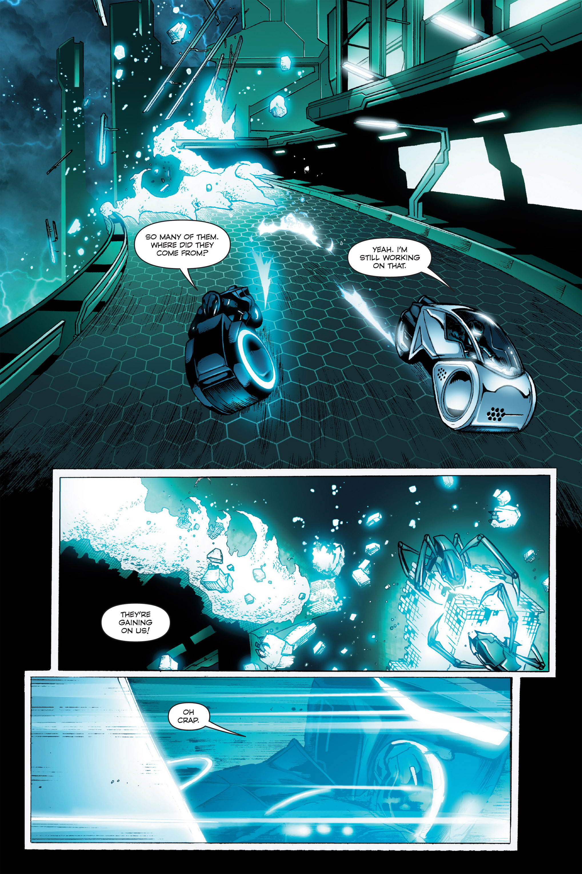 Read online TRON: Betrayal comic -  Issue # TPB - 15