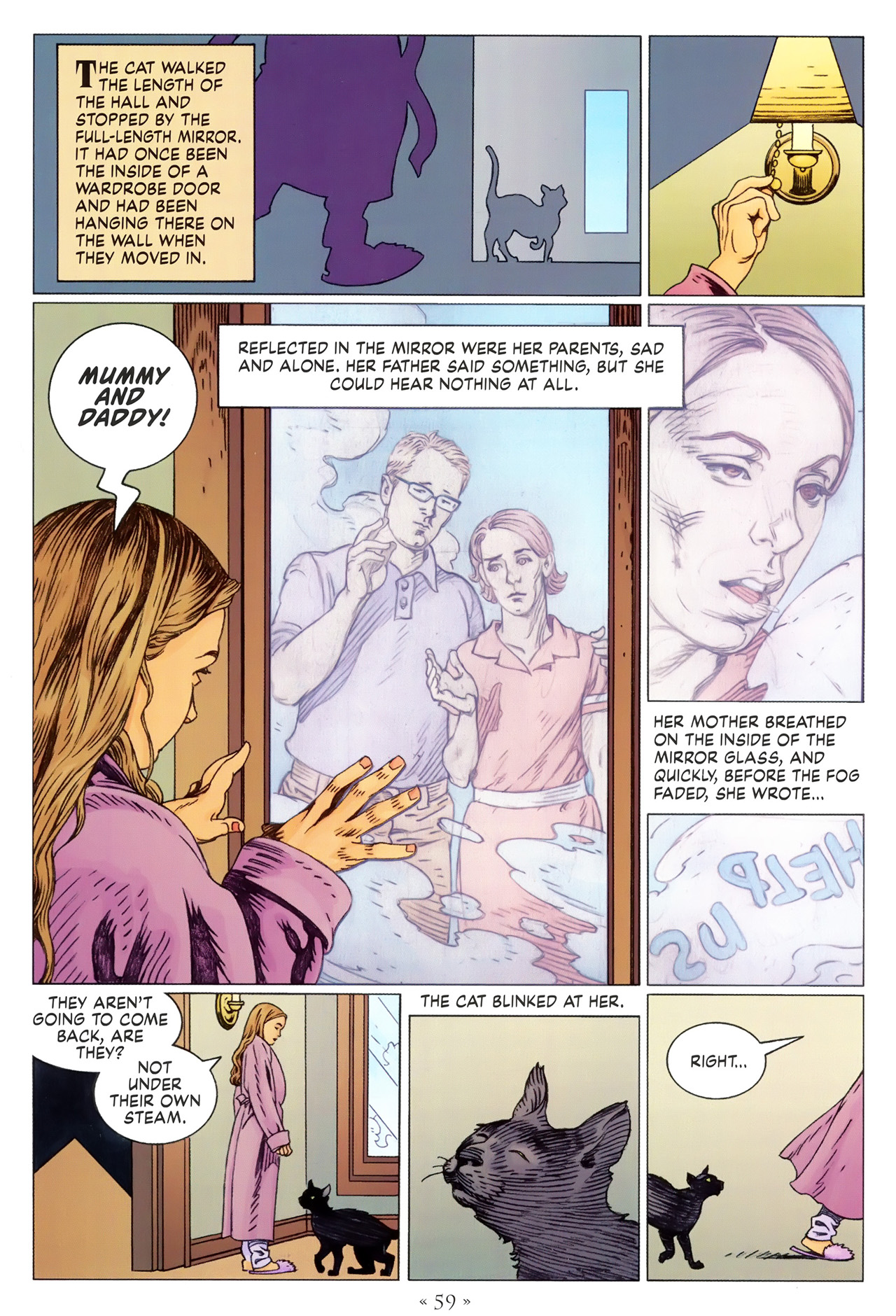 Read online Coraline comic -  Issue #1 - 65