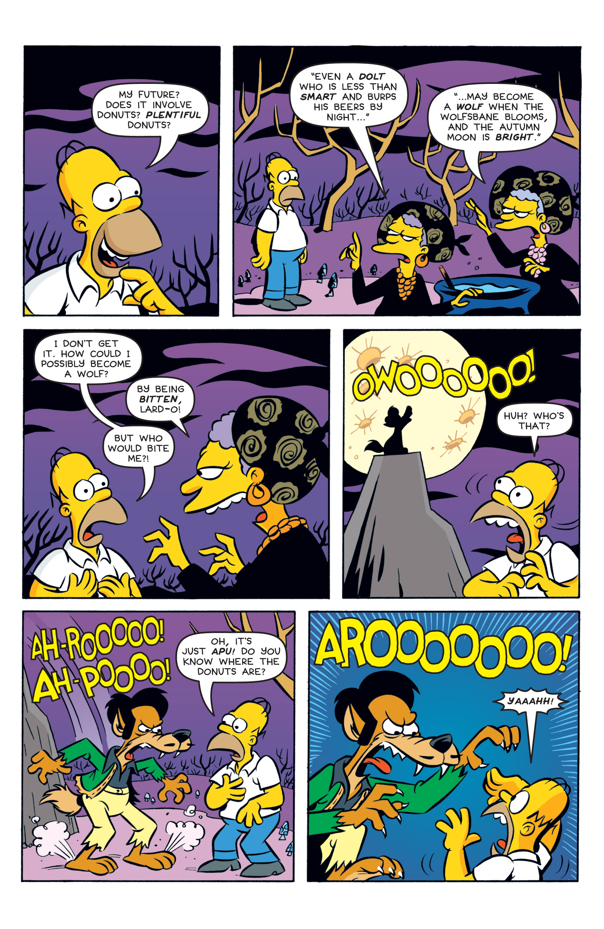 Read online Treehouse of Horror comic -  Issue #19 - 5