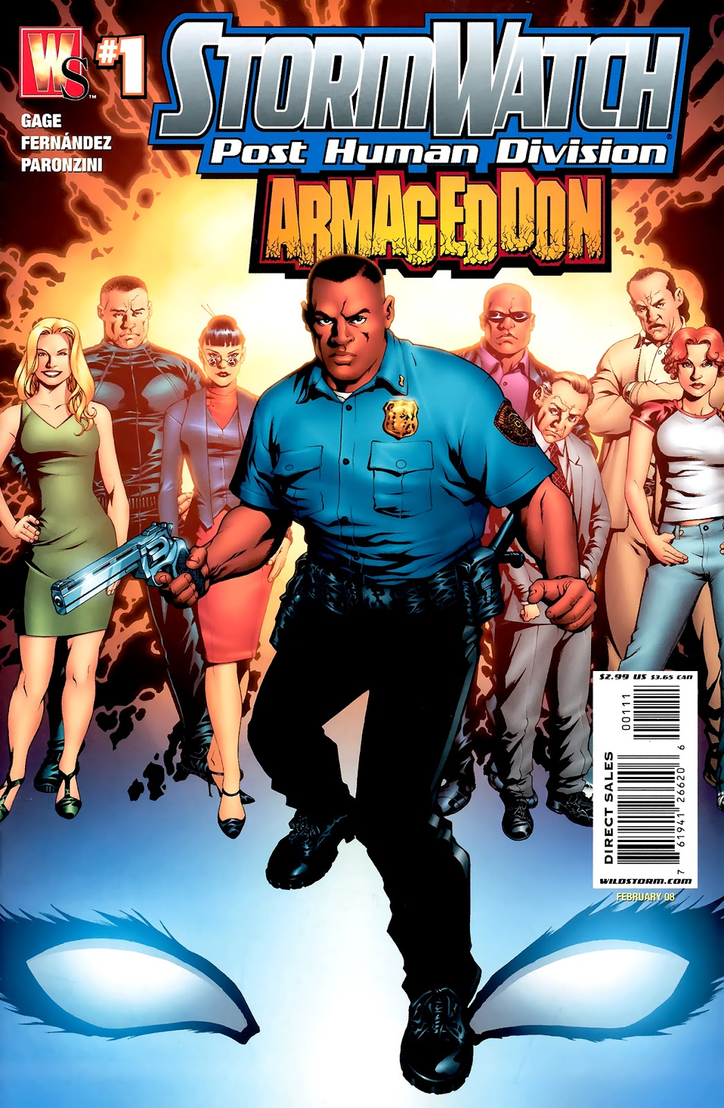 Stormwatch: P.H.D.: Armageddon issue Full - Page 1