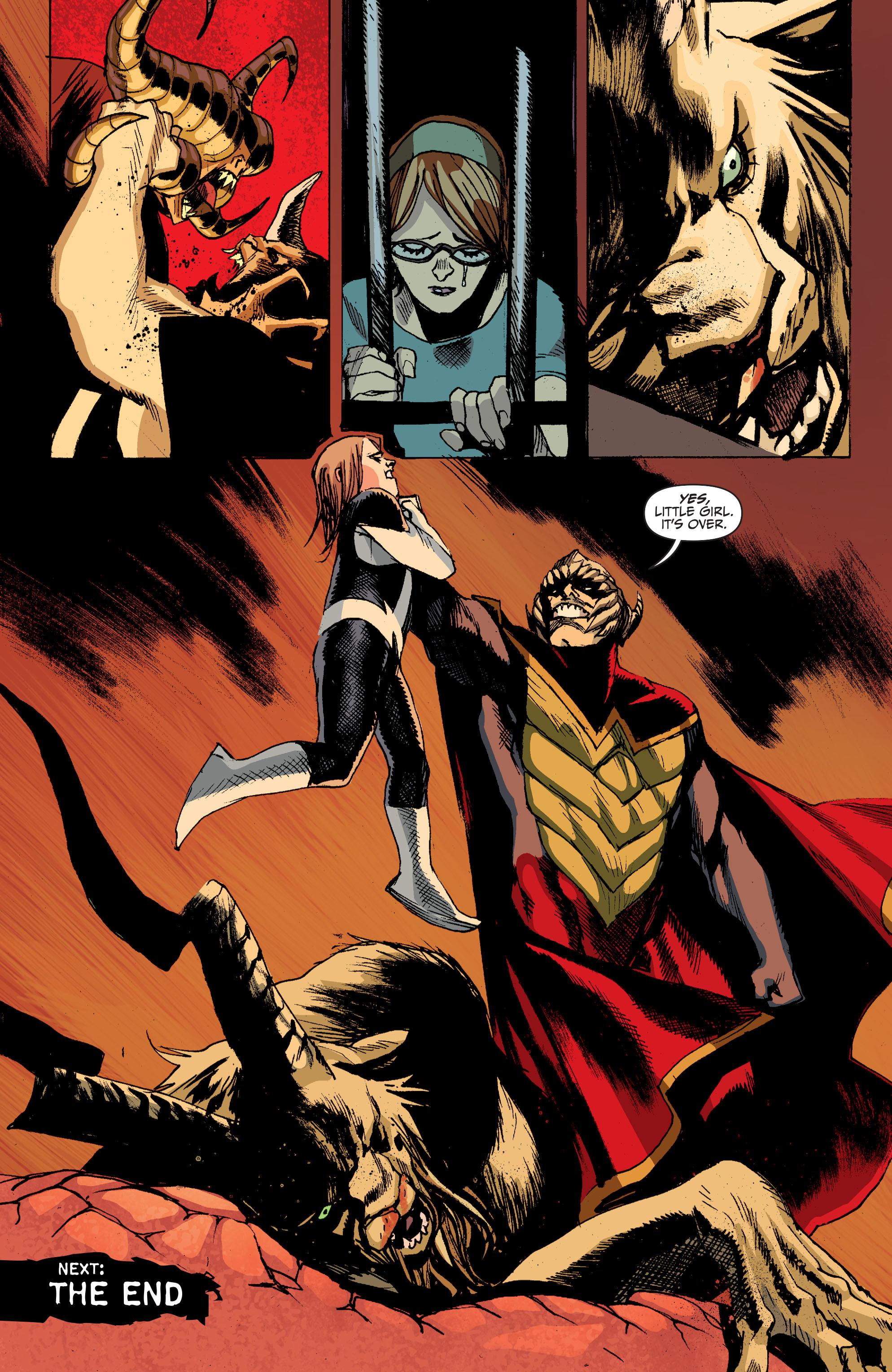 Read online Animal Man (2011) comic -  Issue #27 - 19