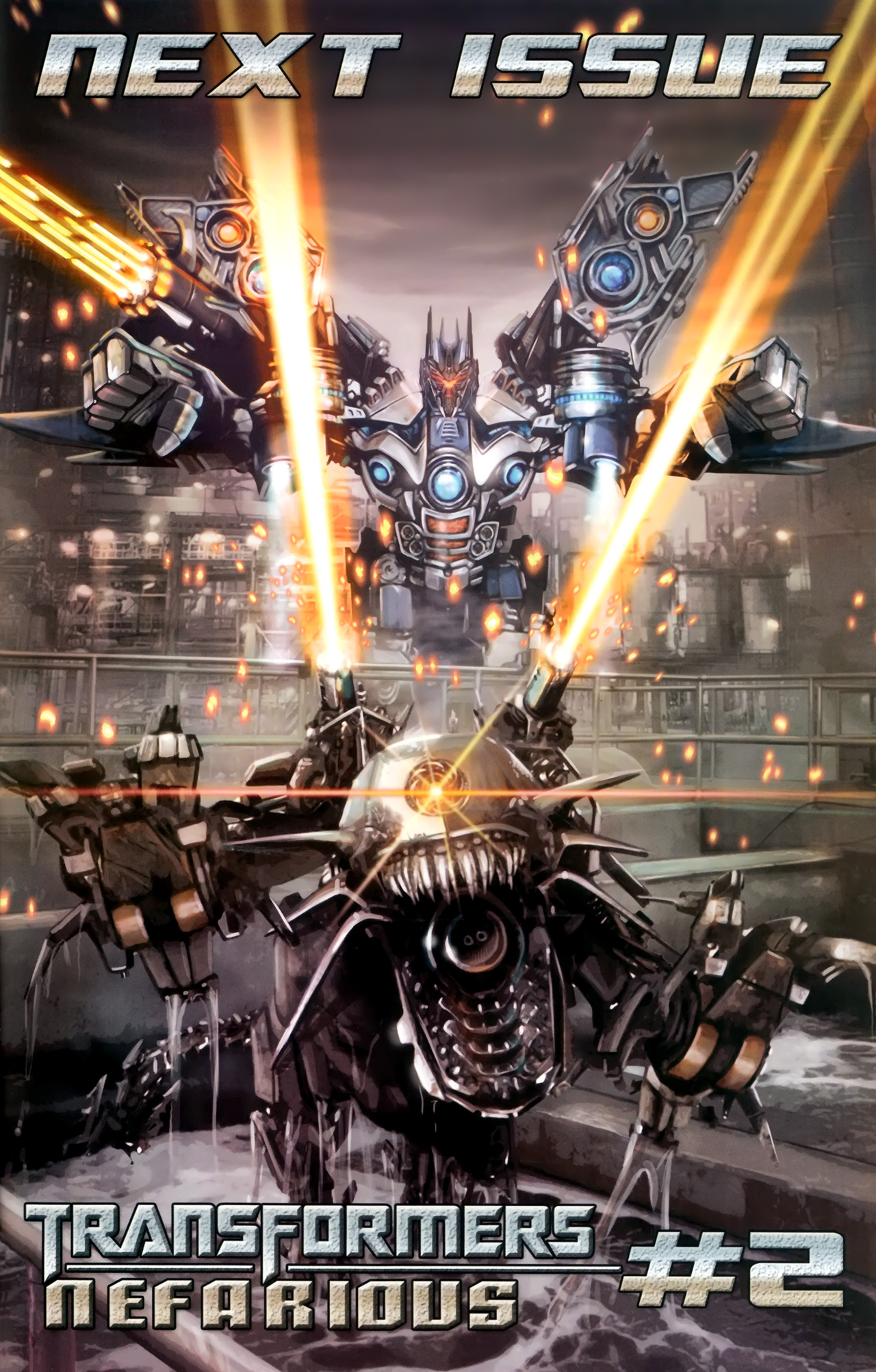 Read online Transformers: Nefarious comic -  Issue #1 - 27