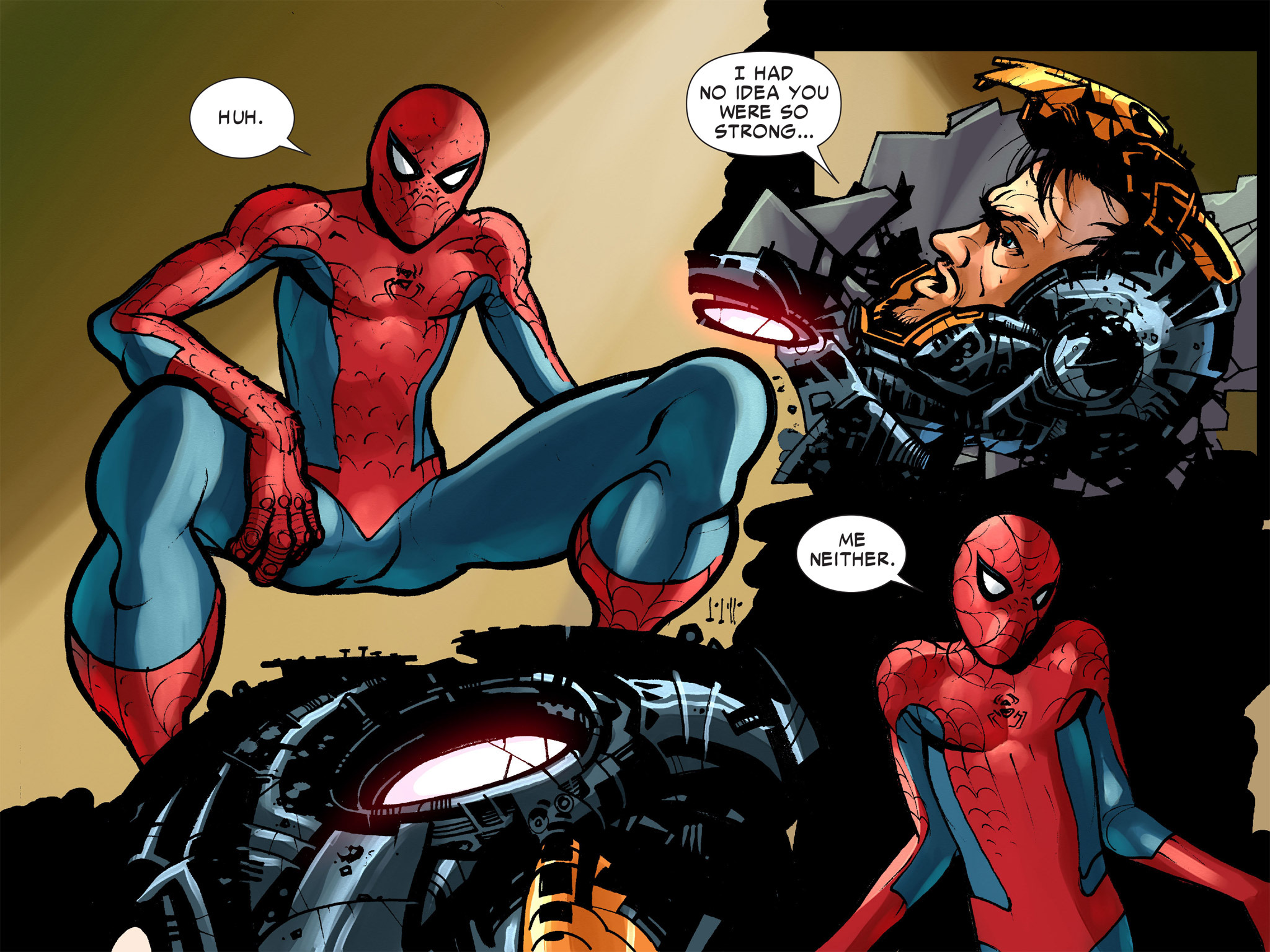 Read online Amazing Spider-Man: Who Am I? comic -  Issue # Full (Part 1) - 181