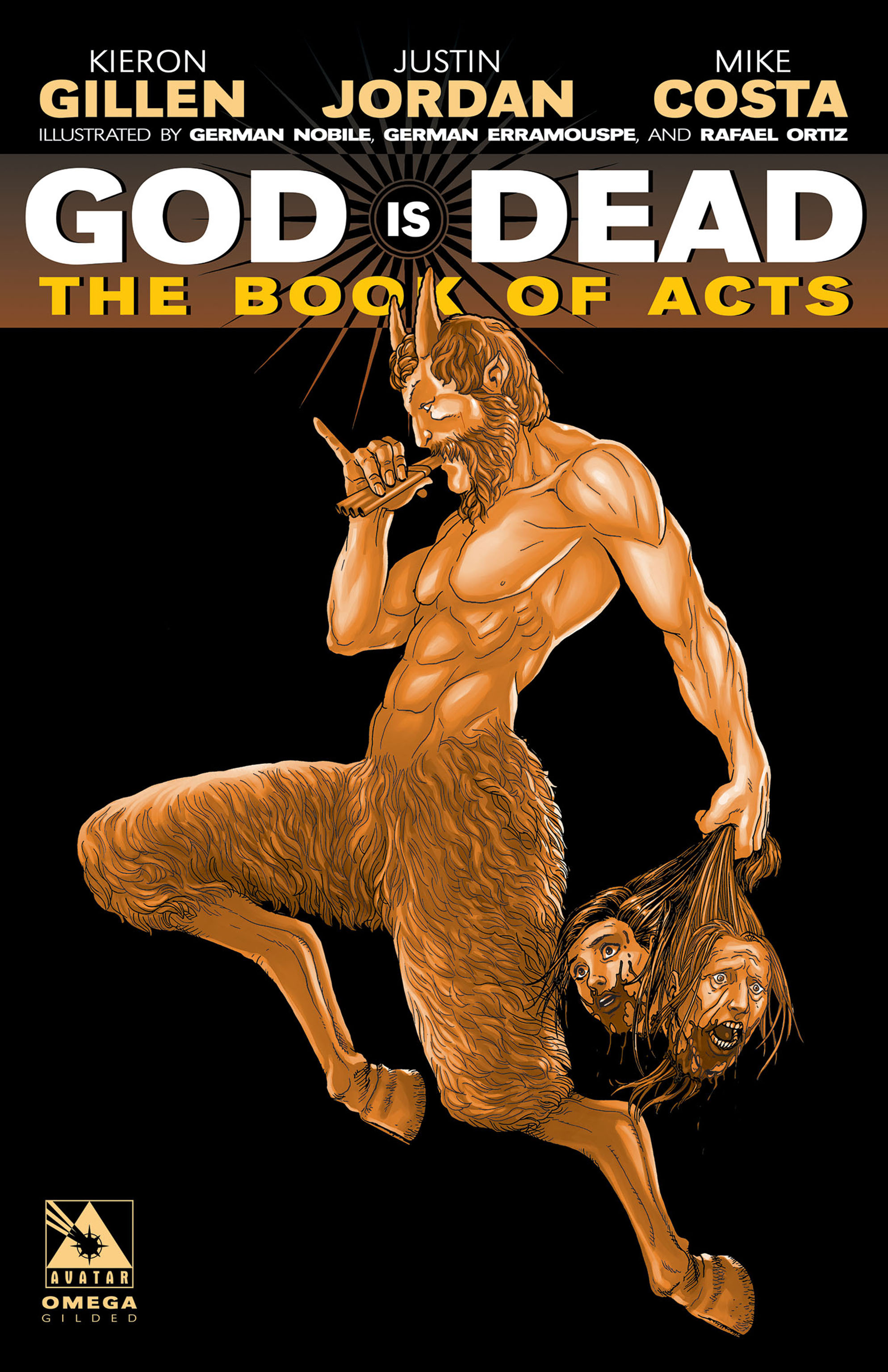 Read online God is Dead: Book of Acts comic -  Issue # Omega - 5