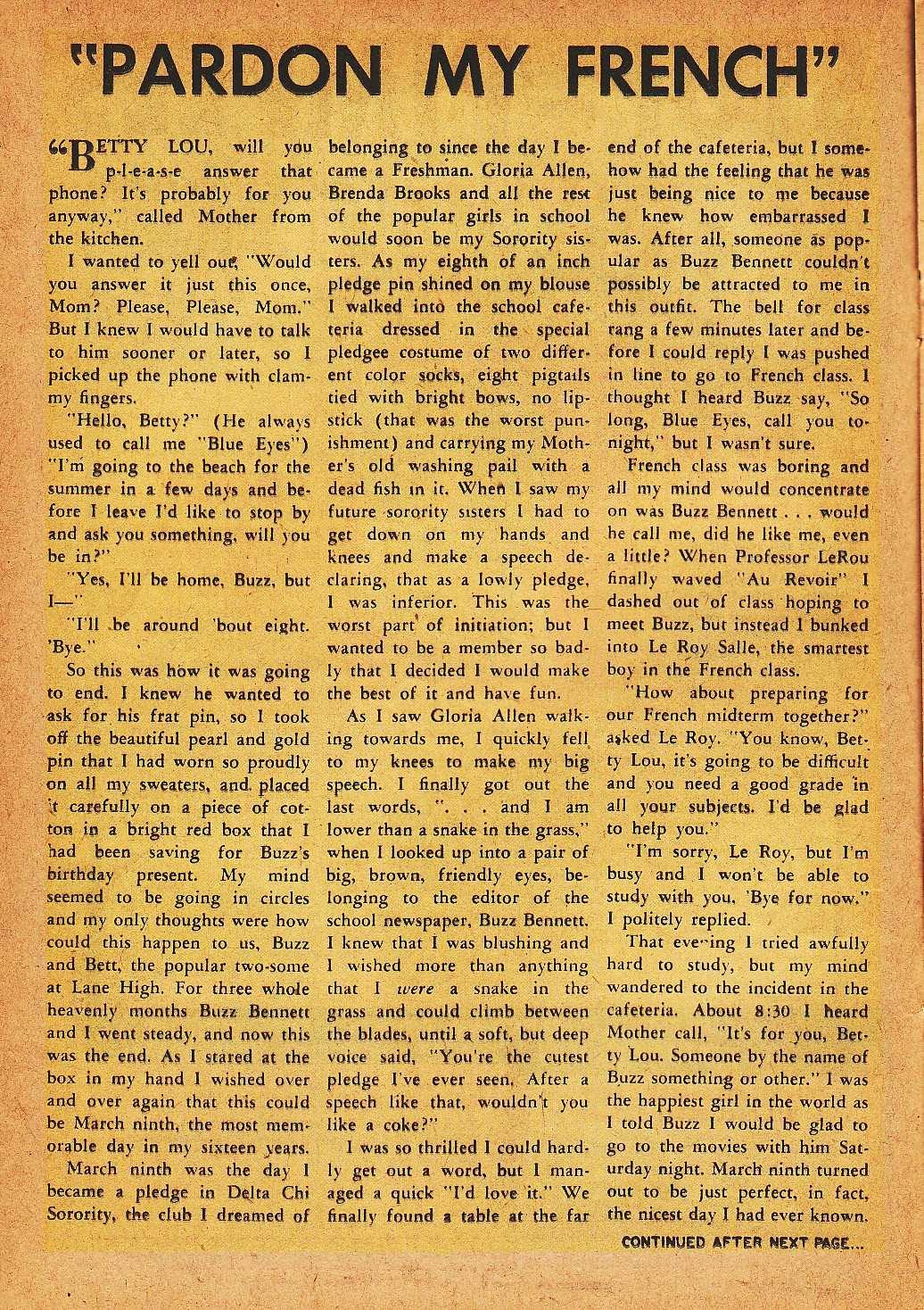 Read online Nellie The Nurse (1945) comic -  Issue #32 - 16