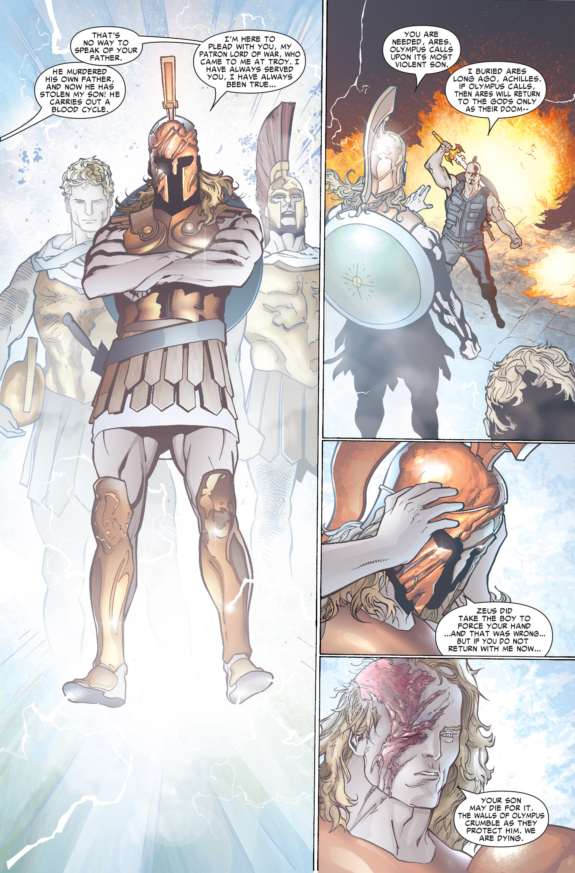 Read online Ares comic -  Issue #2 - 9