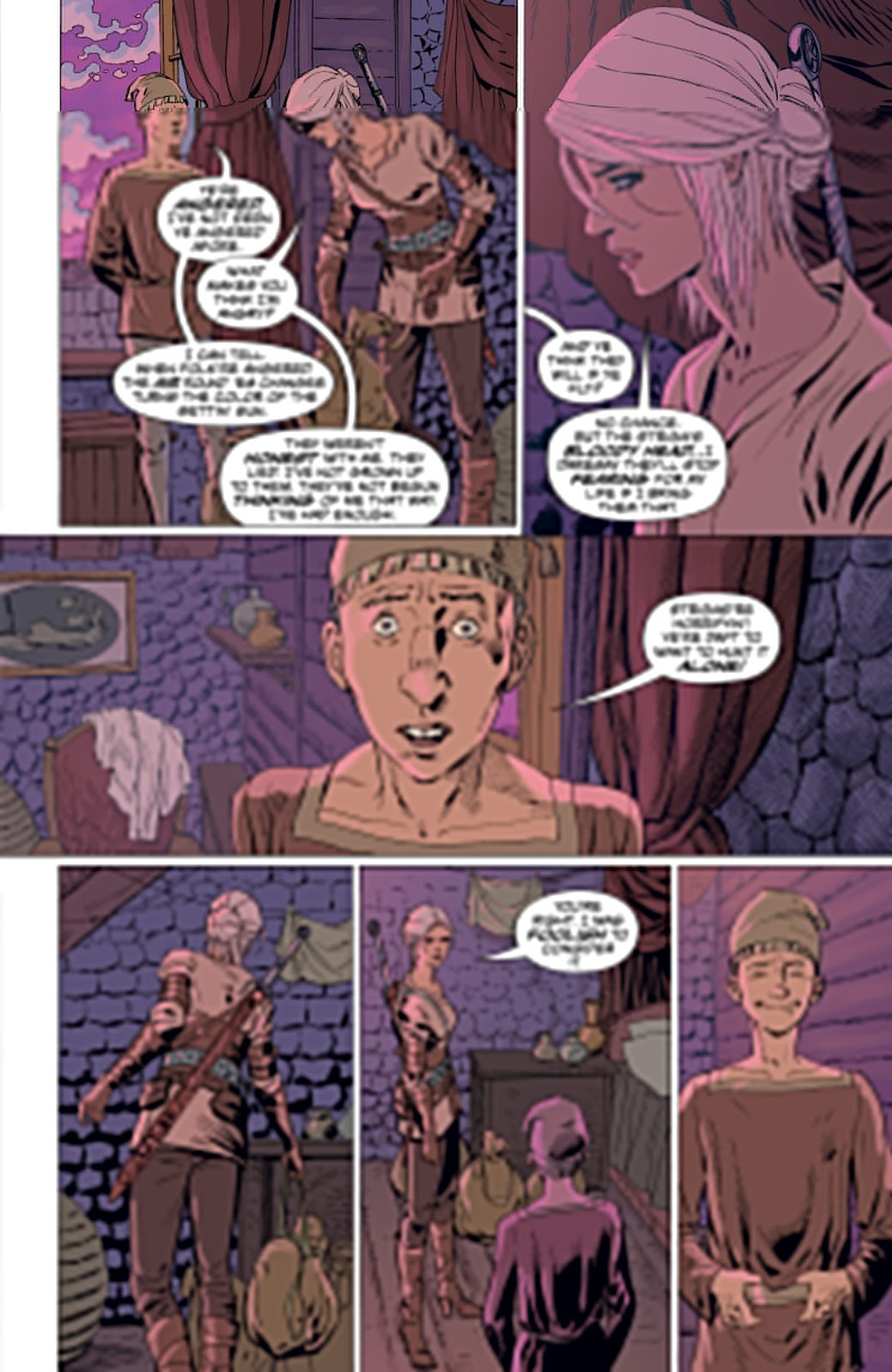 Read online The Witcher Omnibus comic -  Issue # TPB (Part 4) - 65