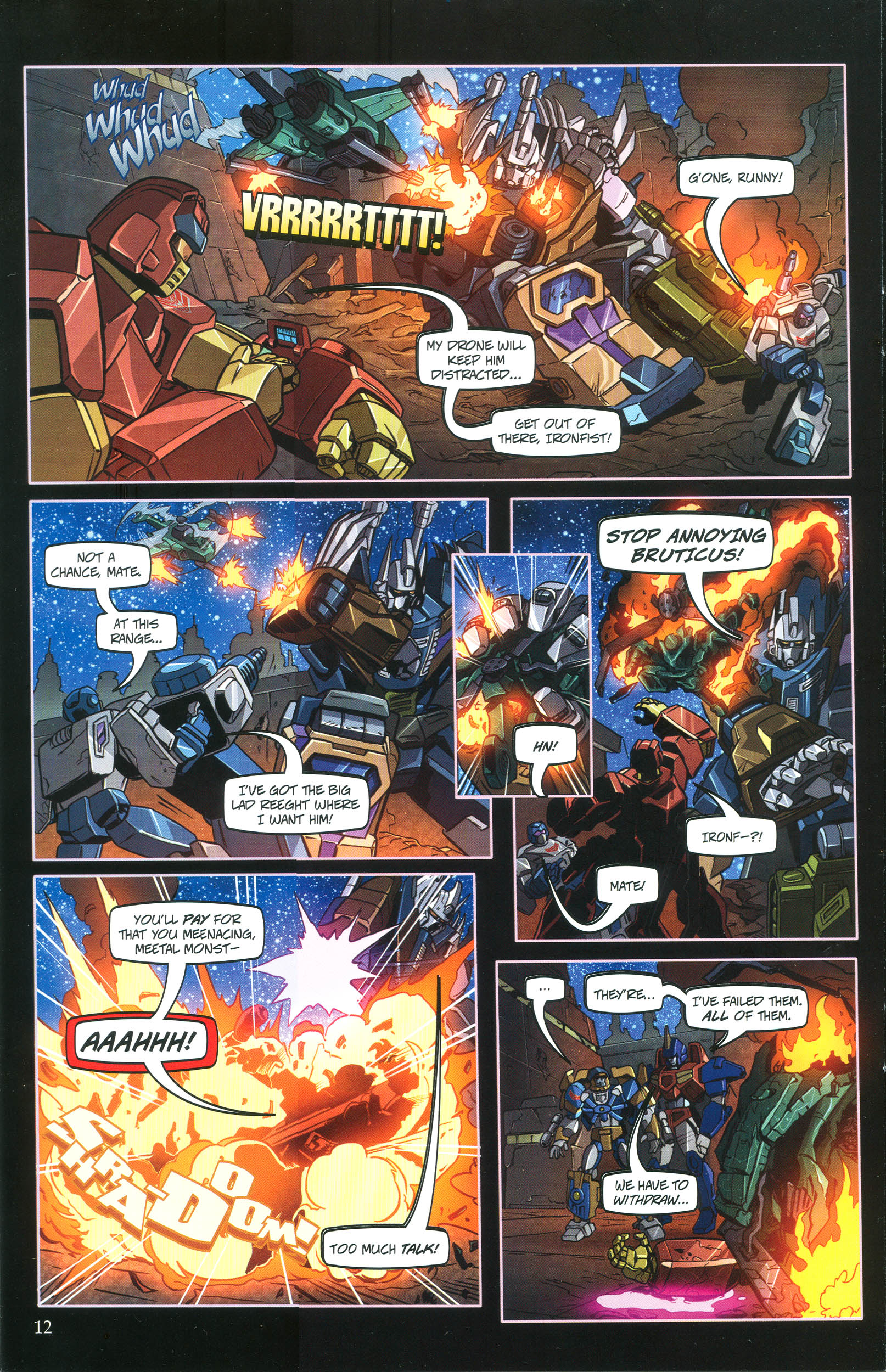 Read online Transformers: Collectors' Club comic -  Issue #36 - 12