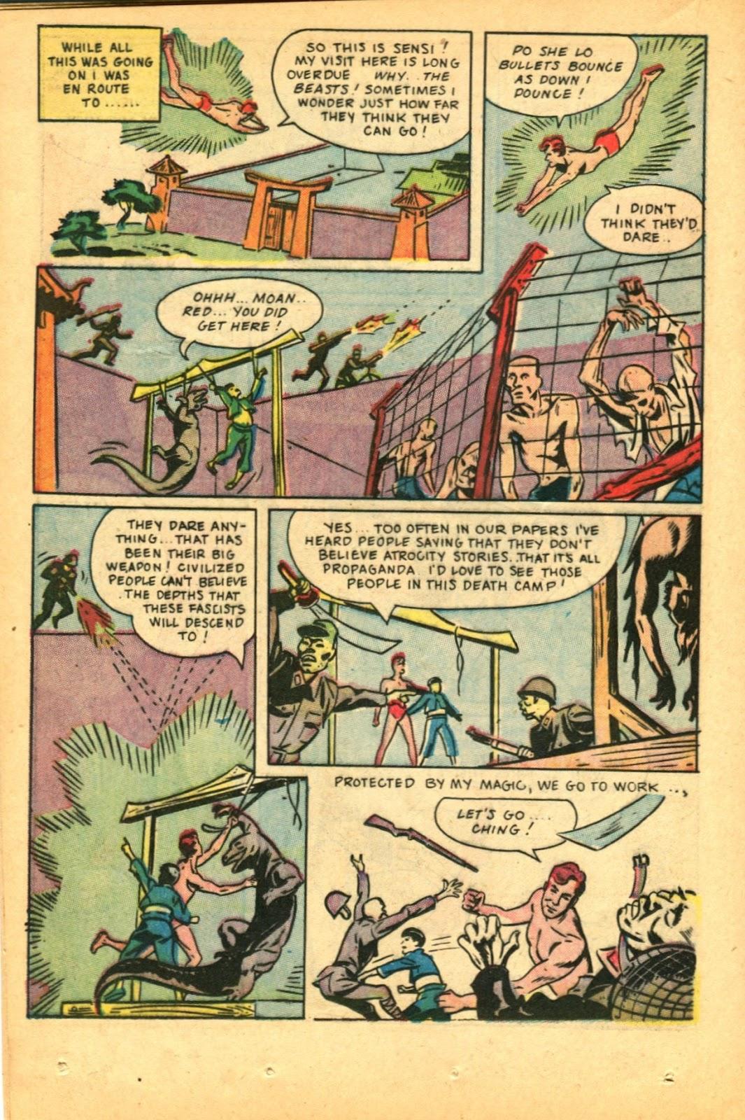 Read online Super-Magician Comics comic -  Issue #49 - 30