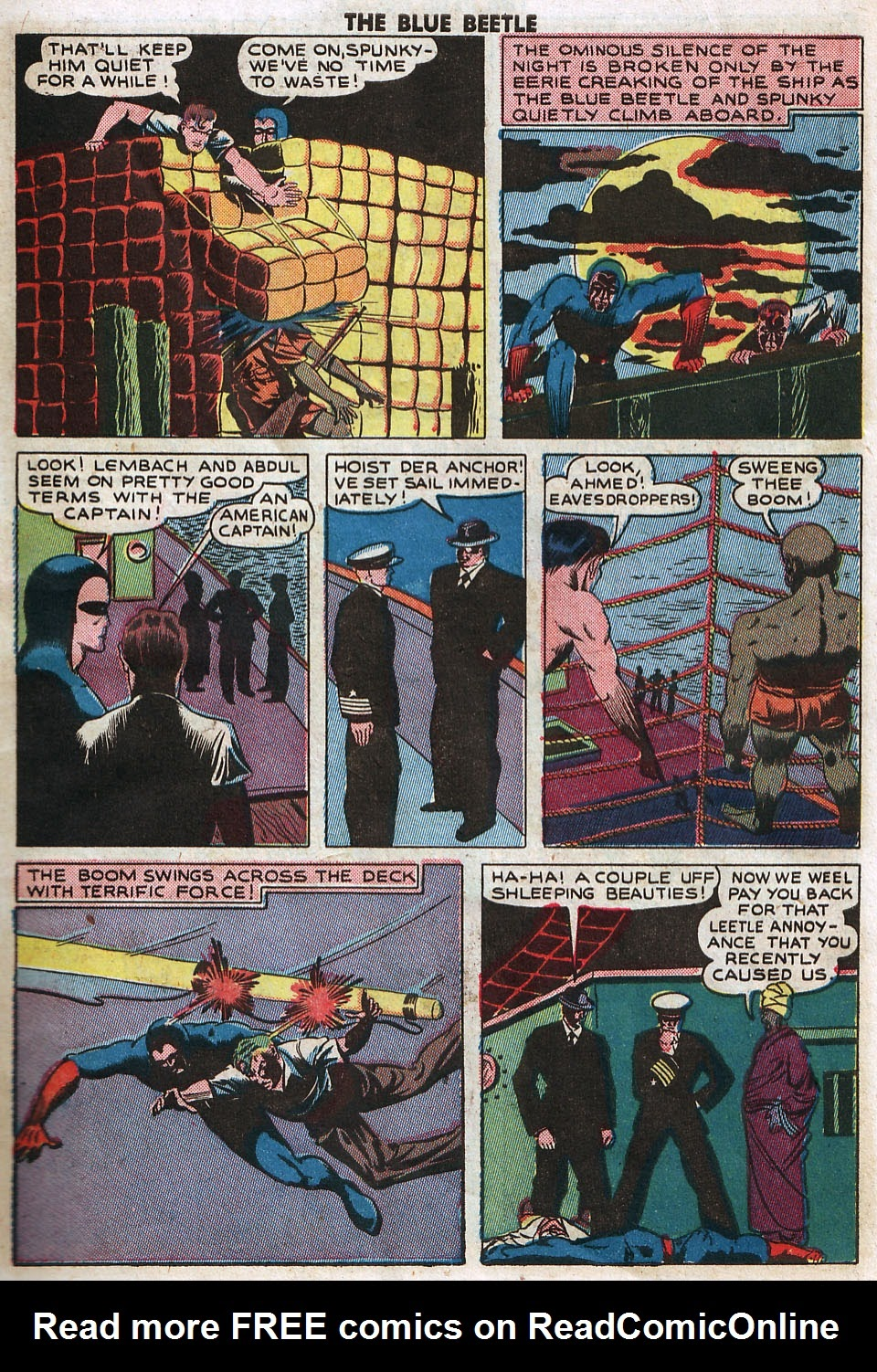 The Blue Beetle issue 33 - Page 9