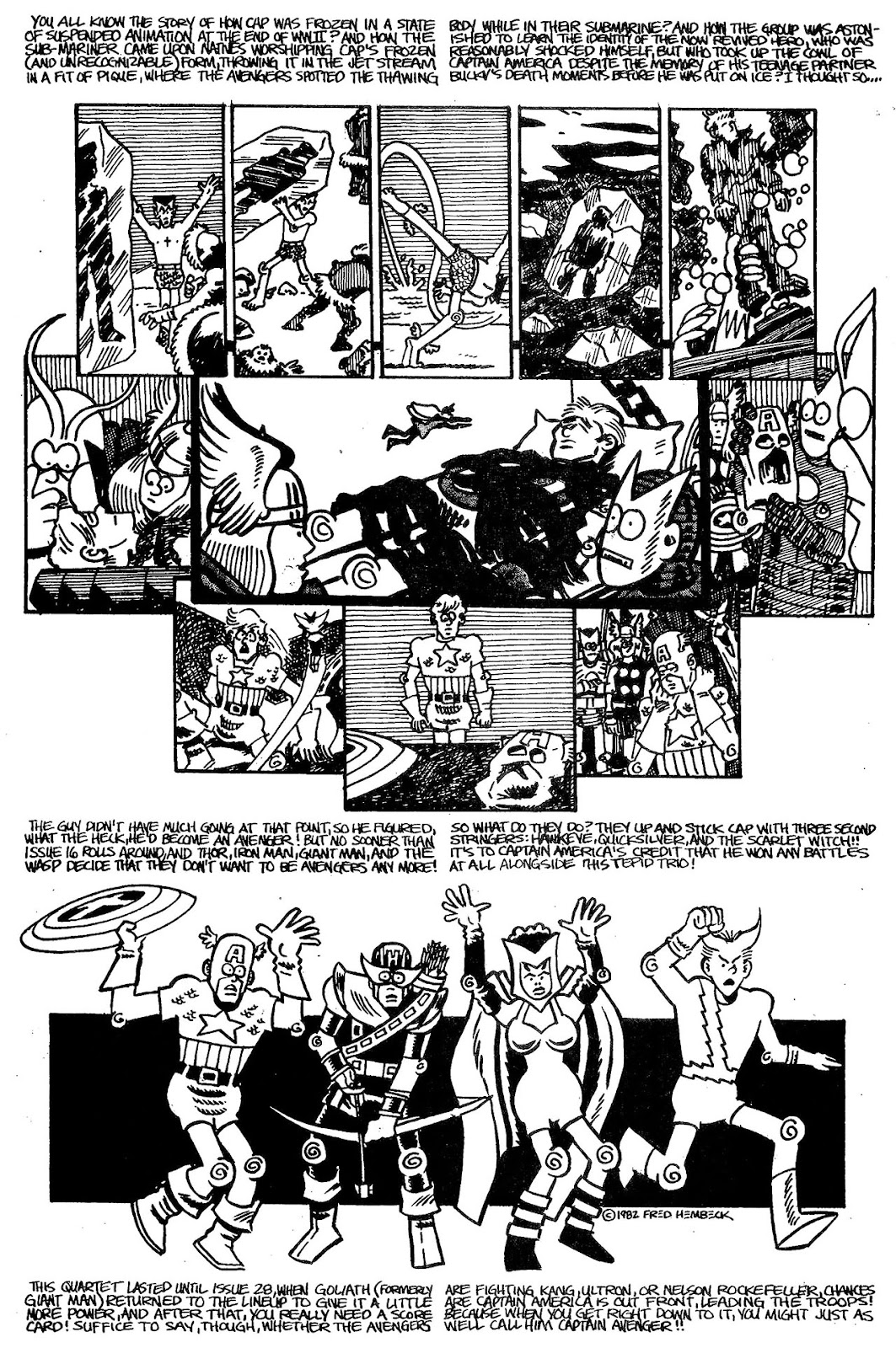 Read online The Nearly Complete Essential Hembeck Archives Omnibus comic -  Issue # TPB (Part 4) - 96