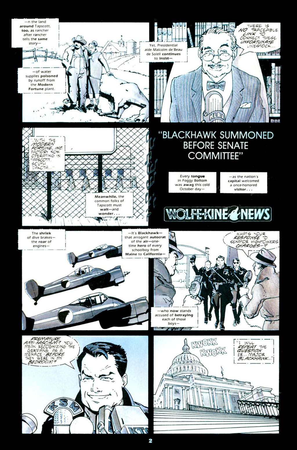 Blackhawk (1988) issue 1 - Page 4