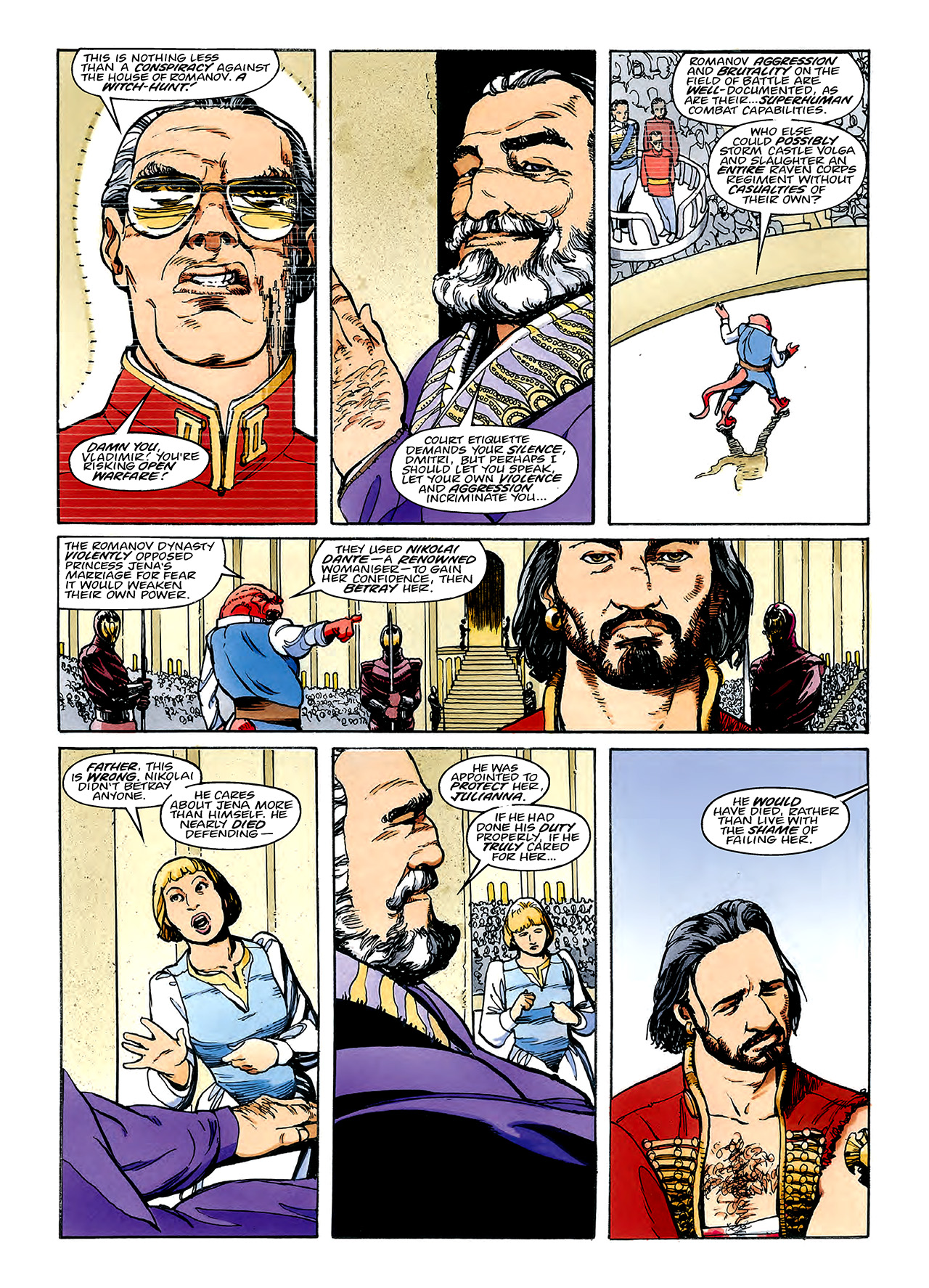 Read online Nikolai Dante comic -  Issue # TPB 3 - 87