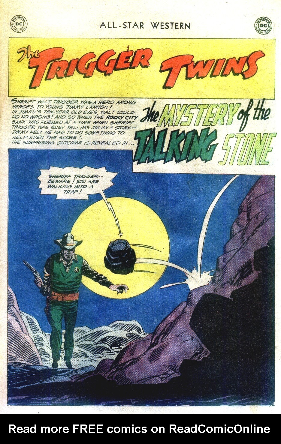 Read online All-Star Western (1951) comic -  Issue #111 - 25