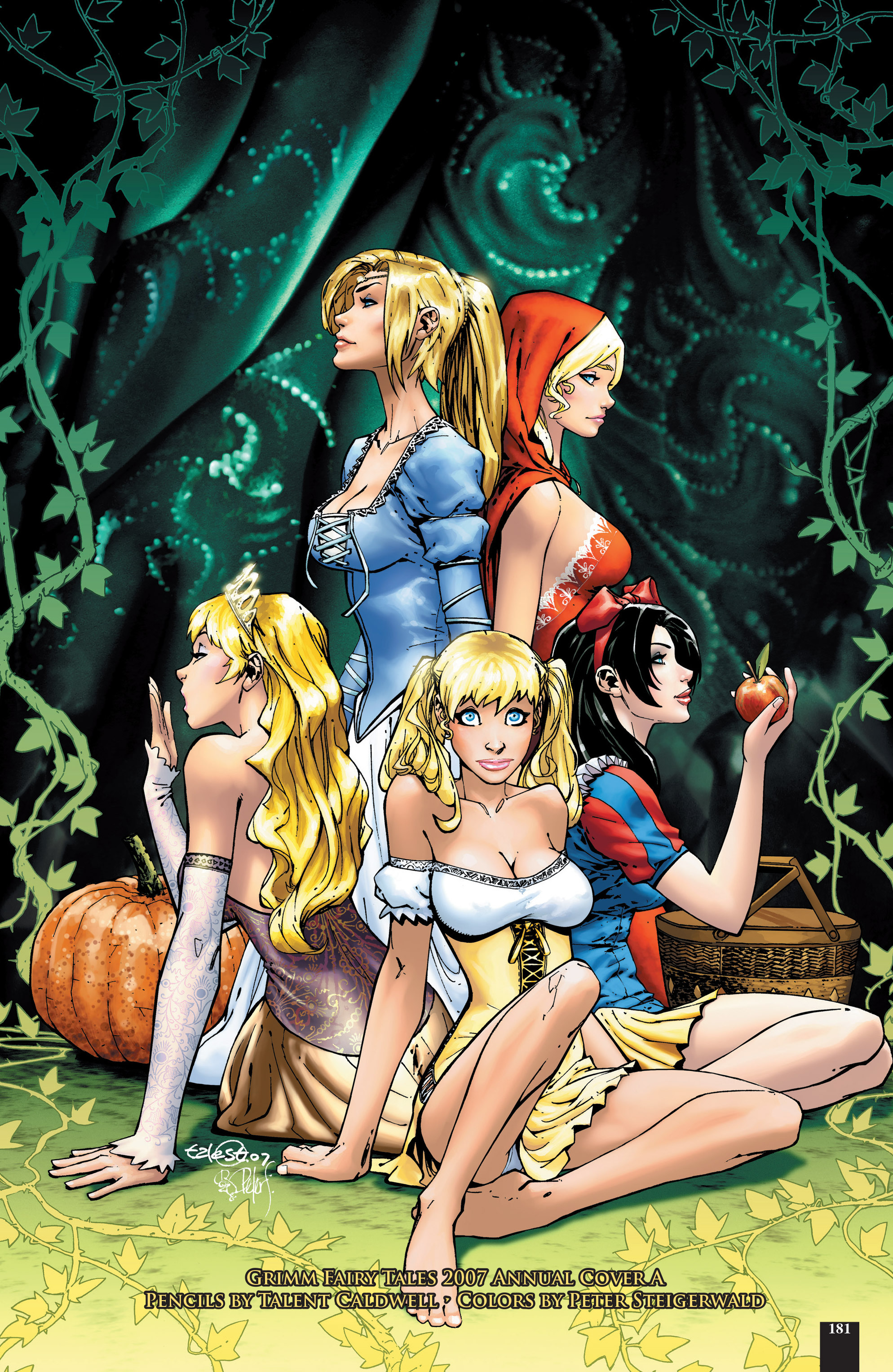 Read online Grimm Fairy Tales: Different Seasons comic -  Issue # TPB 2 - 178