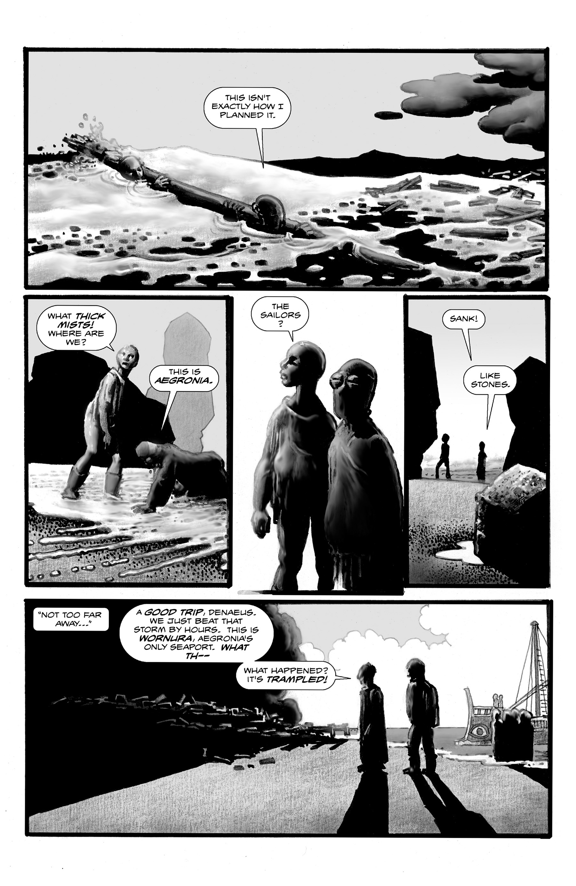 Read online Shadows on the Grave comic -  Issue #3 - 32