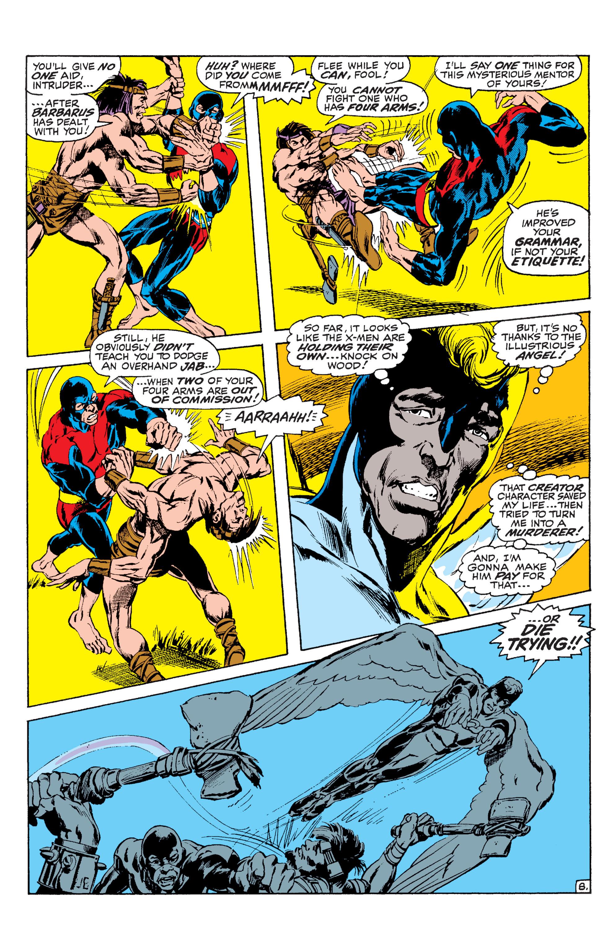 Read online Uncanny X-Men (1963) comic -  Issue #63 - 9