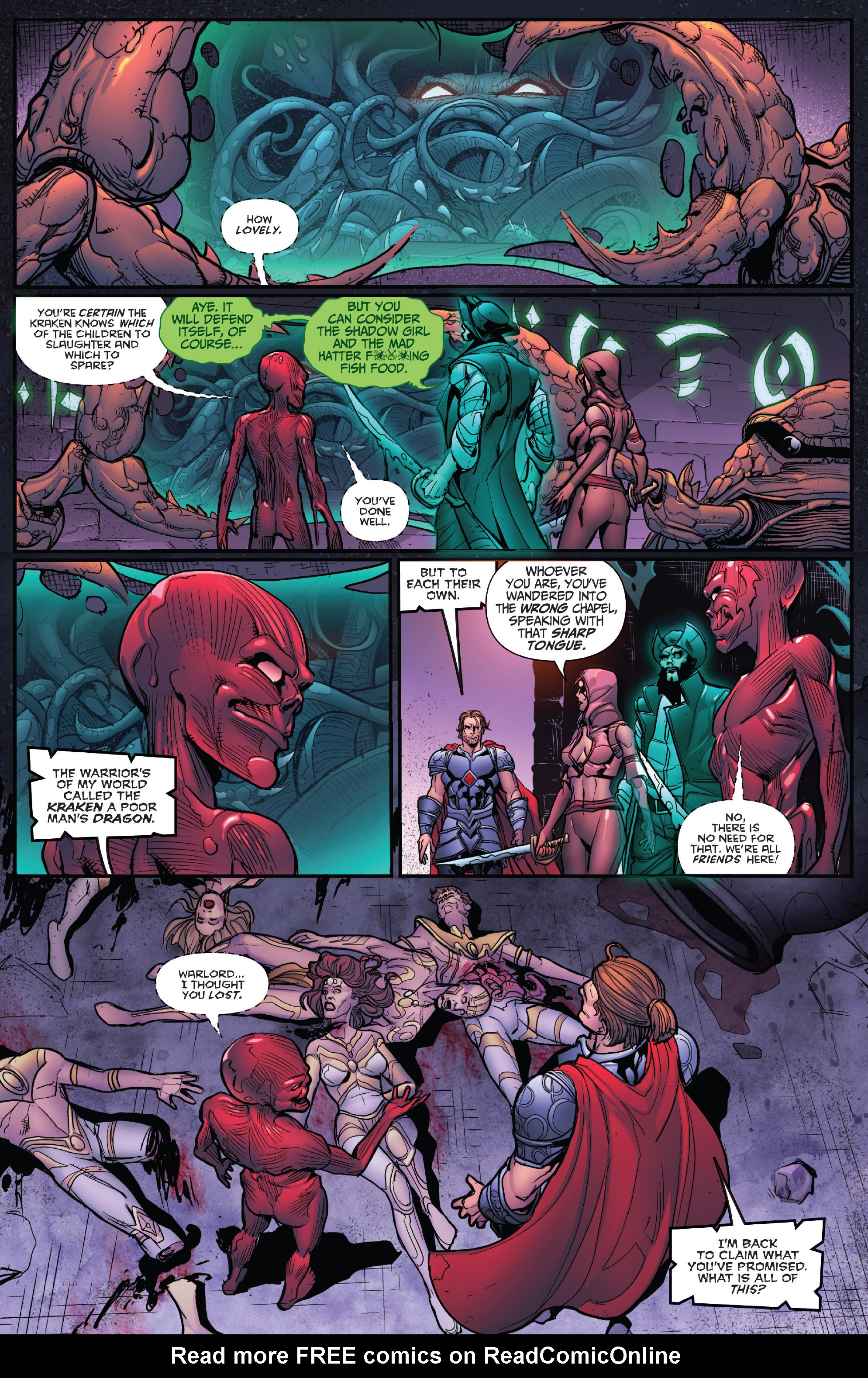 Read online Grimm Fairy Tales: Arcane Acre comic -  Issue # TPB 4 - 120