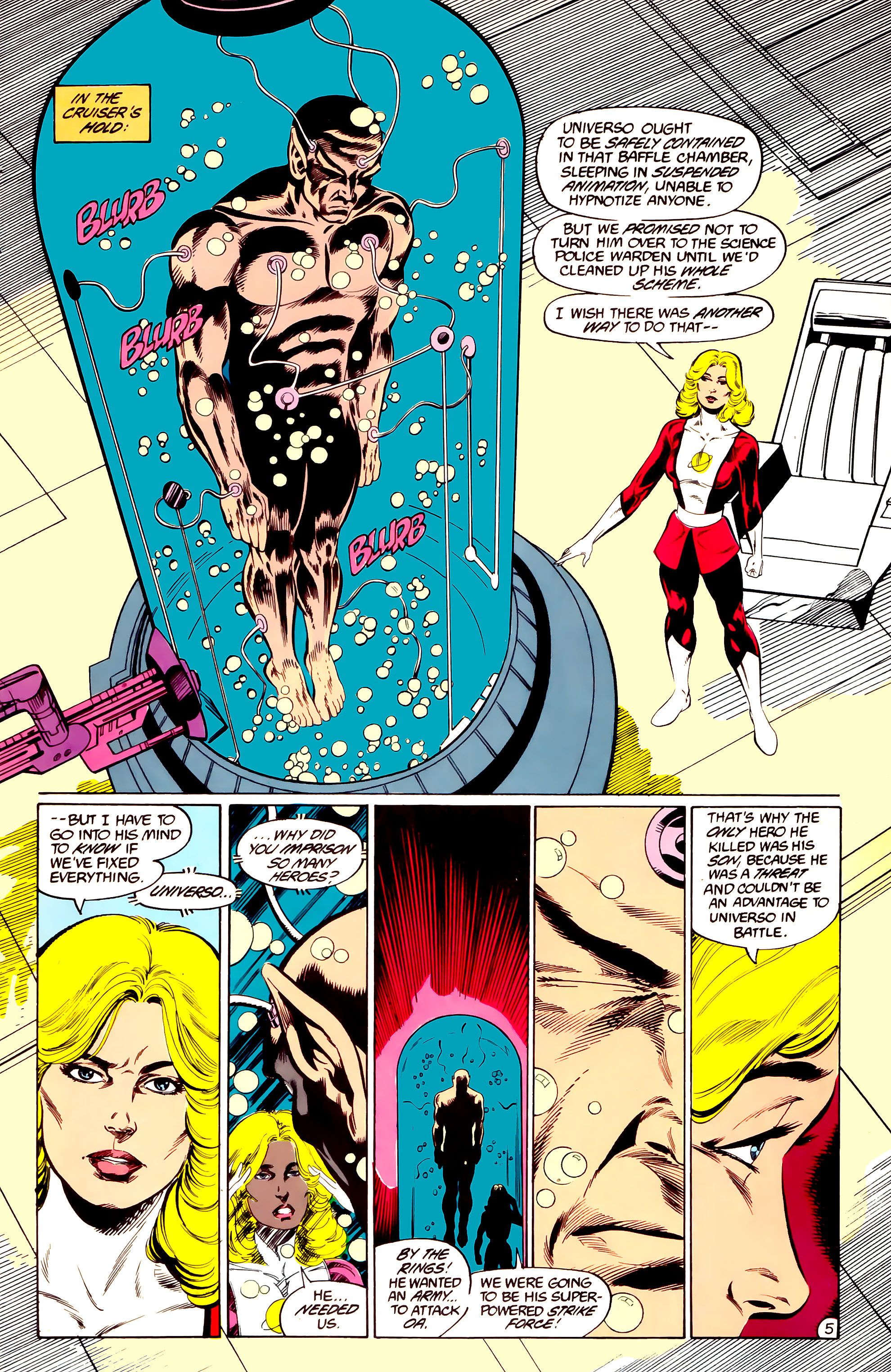 Legion of Super-Heroes (1984) 36 Page 5