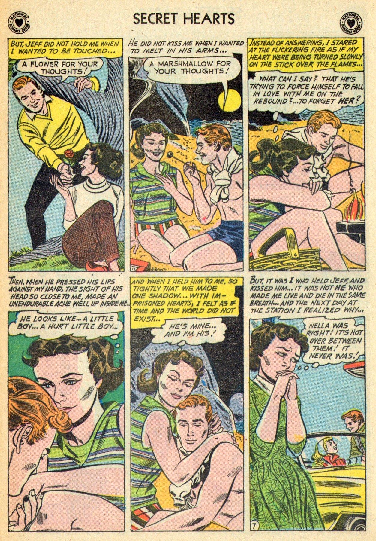 Read online Secret Hearts comic -  Issue #70 - 33