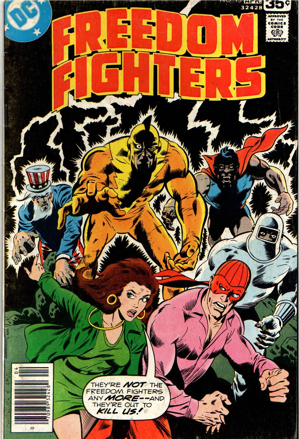 Freedom Fighters (1976) issue 13 - Page 1