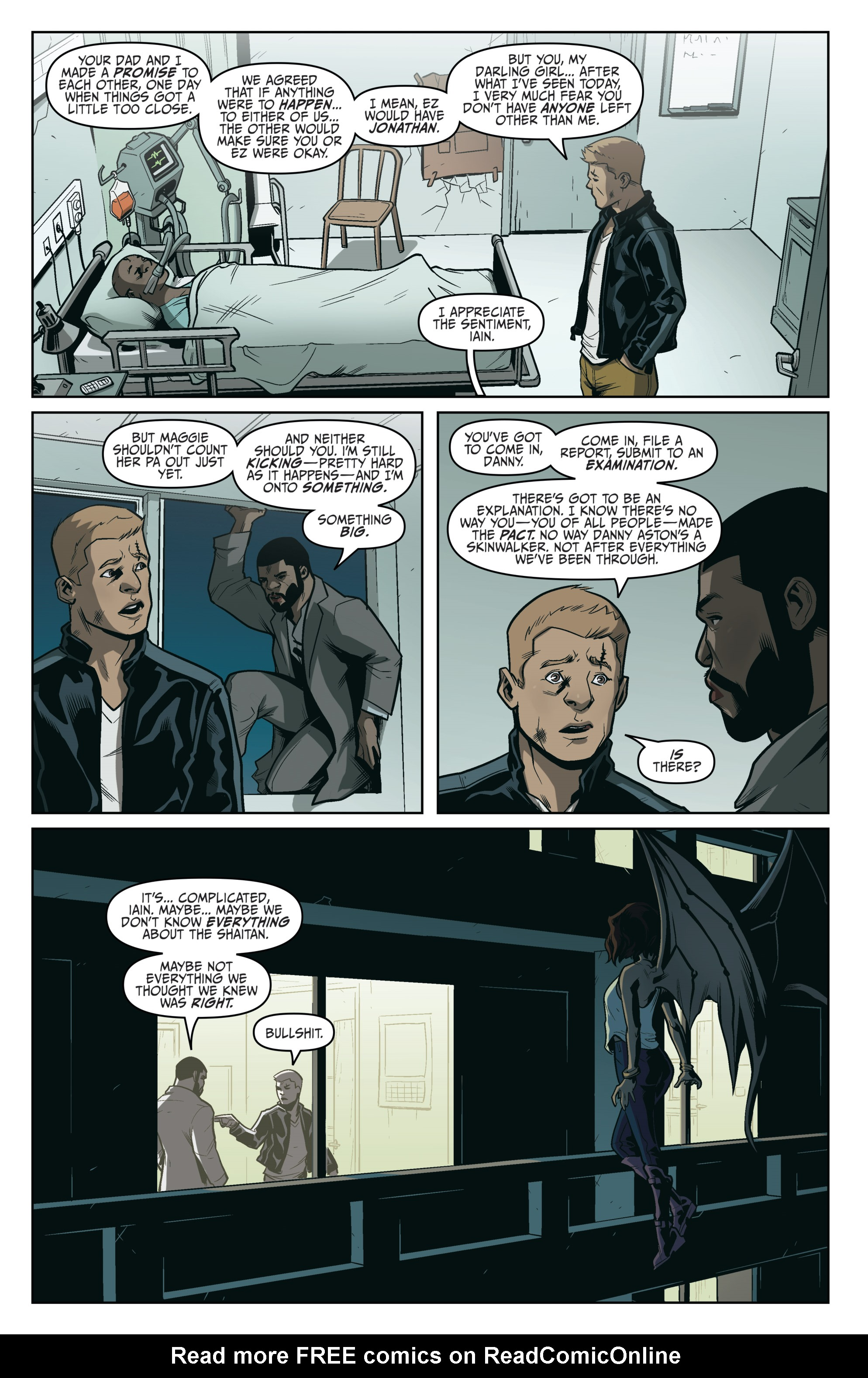 Read online Darkness Visible comic -  Issue #5 - 18