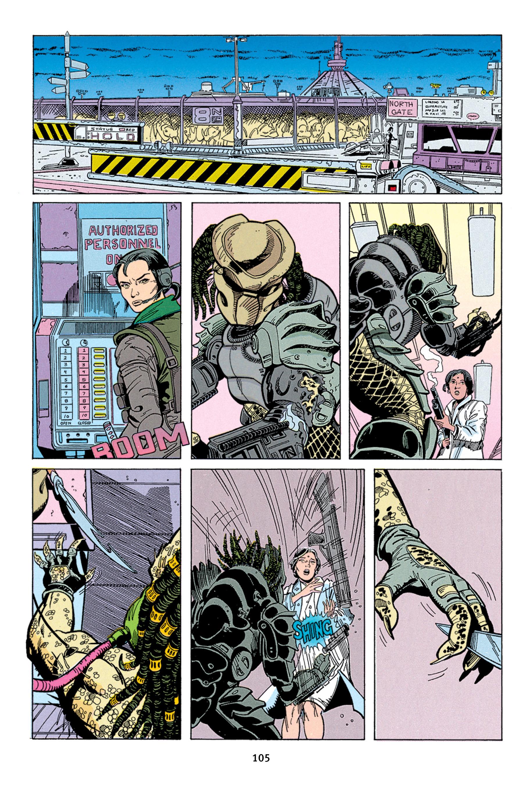 Read online Aliens vs. Predator Omnibus comic -  Issue # _TPB 1 Part 2 - 4