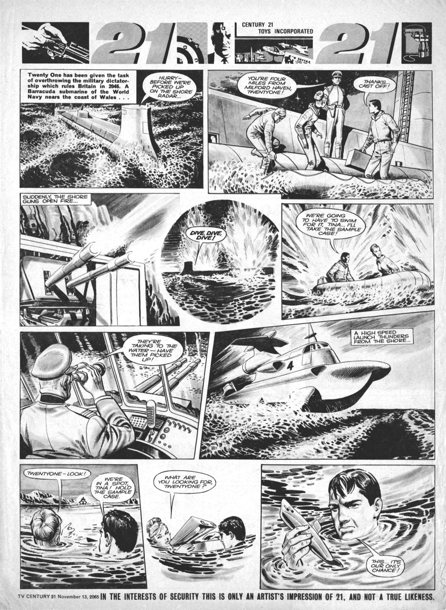 Read online TV Century 21 (TV 21) comic -  Issue #43 - 7