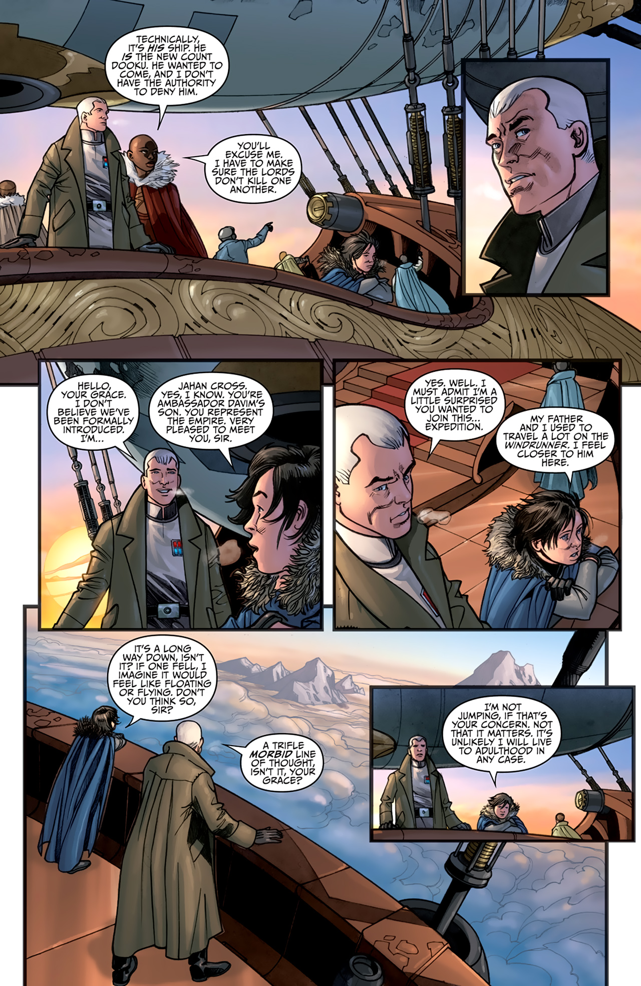 Read online Star Wars: Agent Of The Empire - Hard Targets comic -  Issue #2 - 15