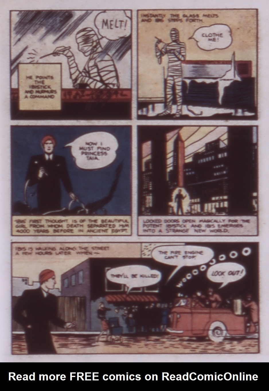 Read online WHIZ Comics comic -  Issue #1 - 17