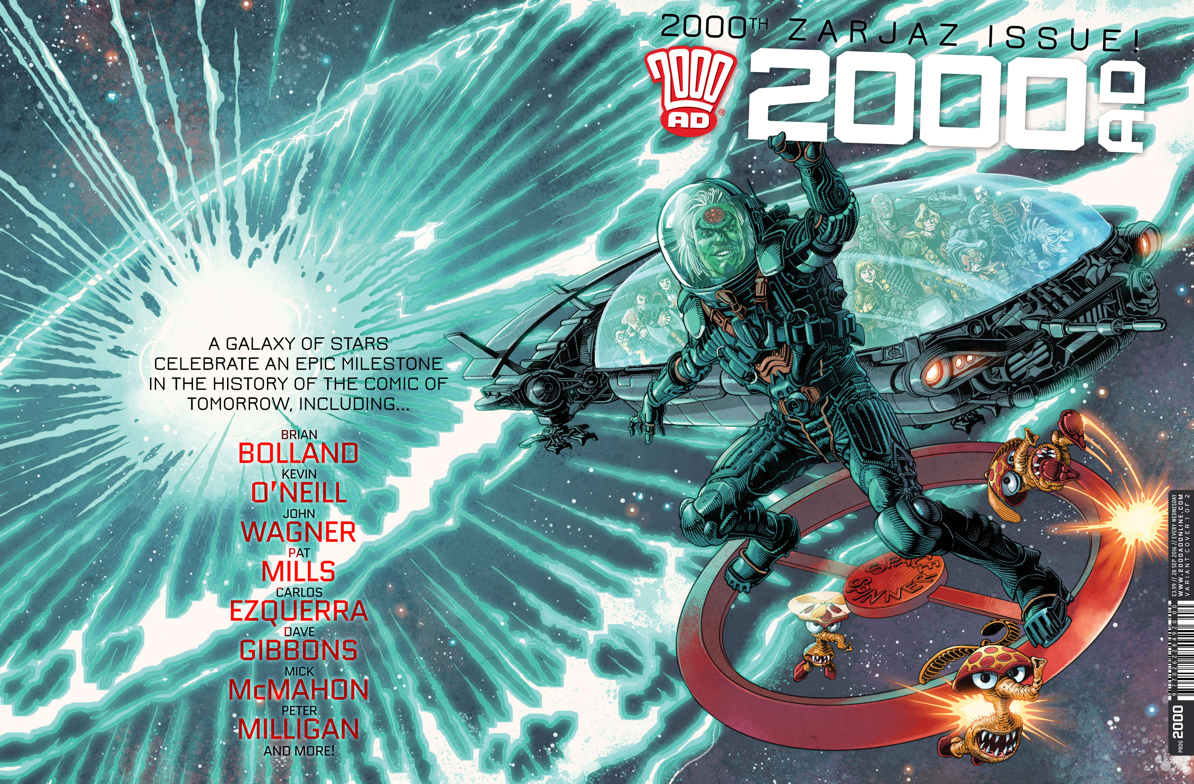 Read online 2000 AD comic -  Issue #2000 - 1