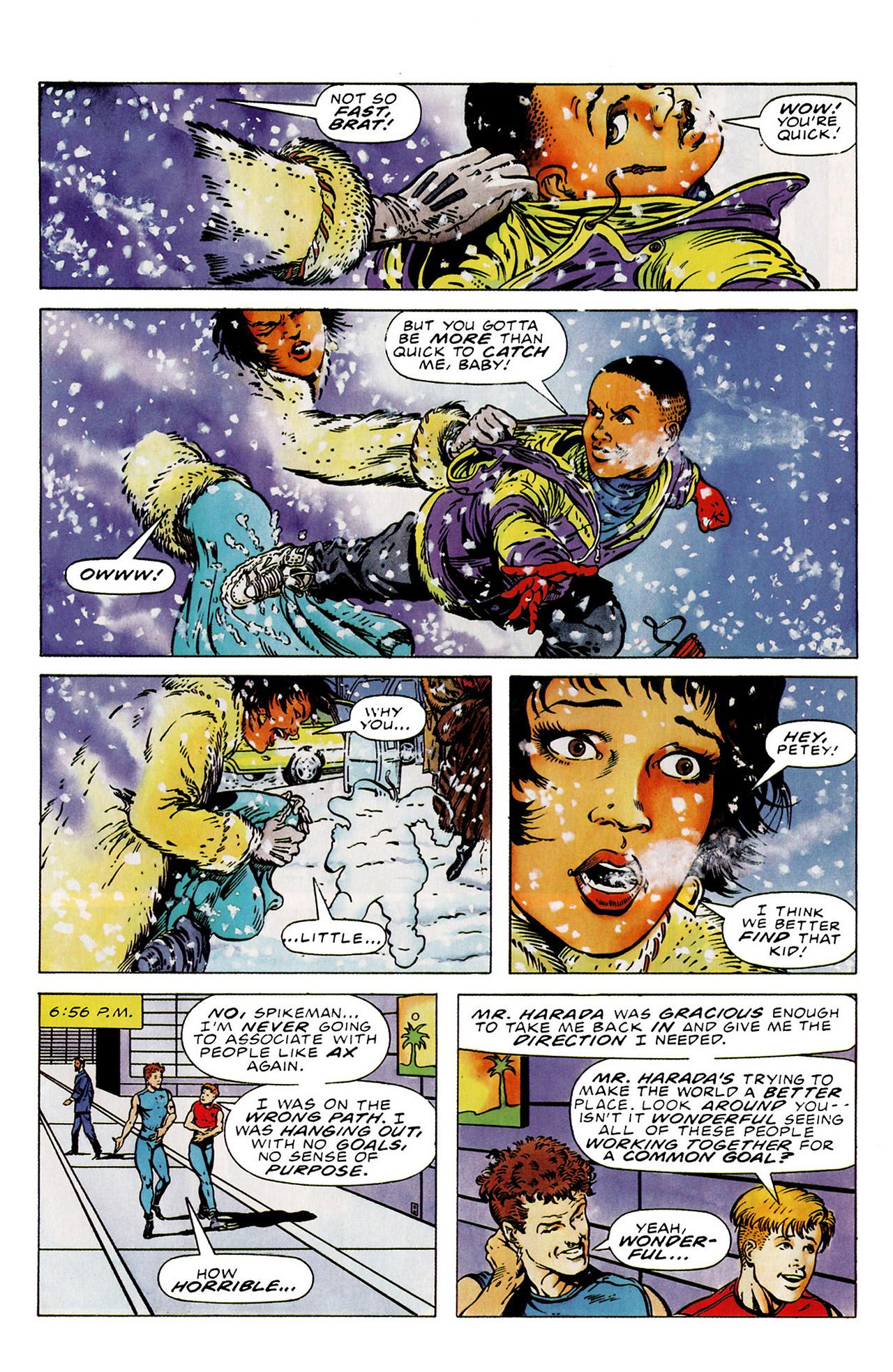 Read online Harbinger (1992) comic -  Issue #15 - 13