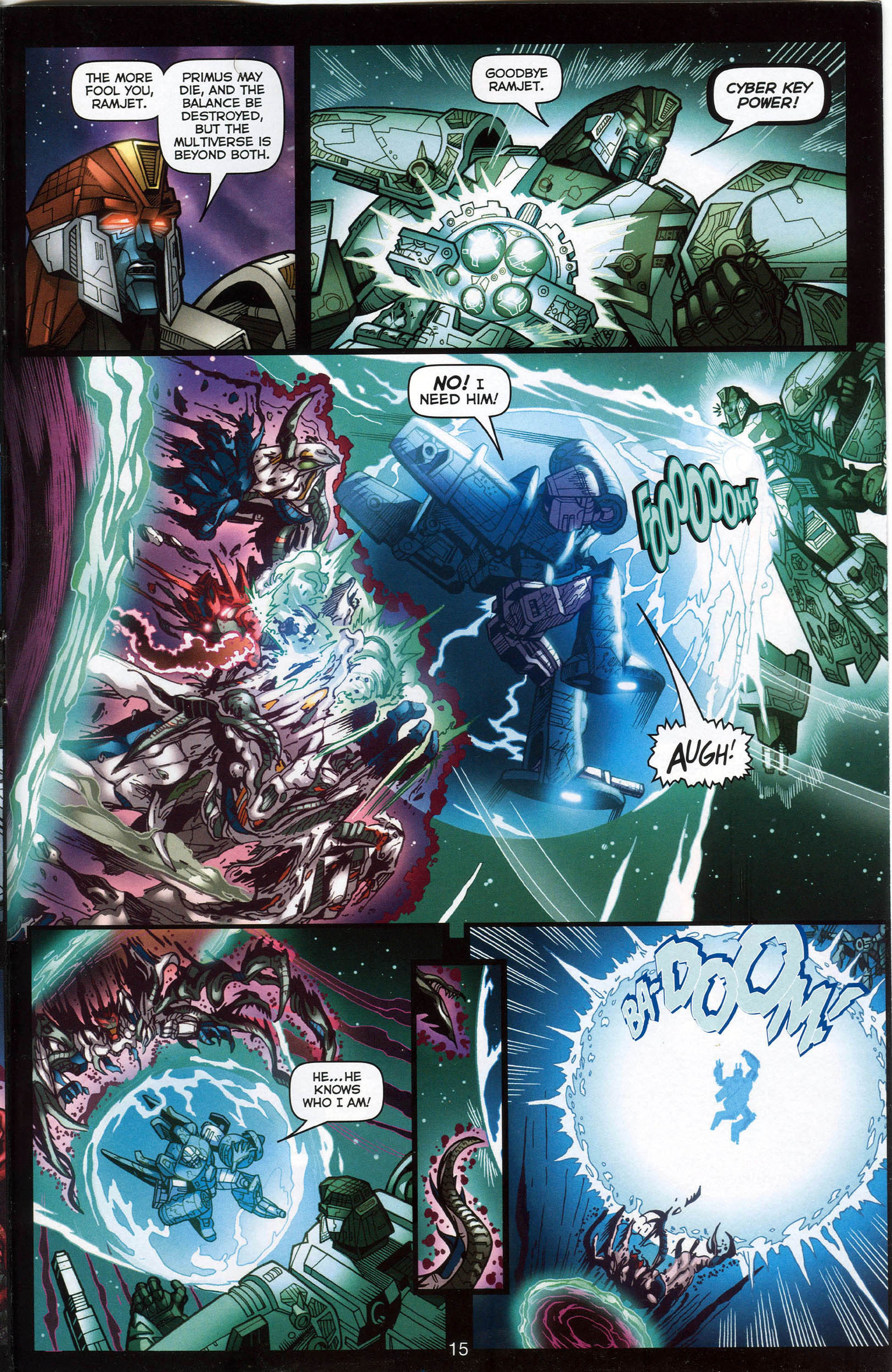 Read online Transformers: Collectors' Club comic -  Issue #7 - 15
