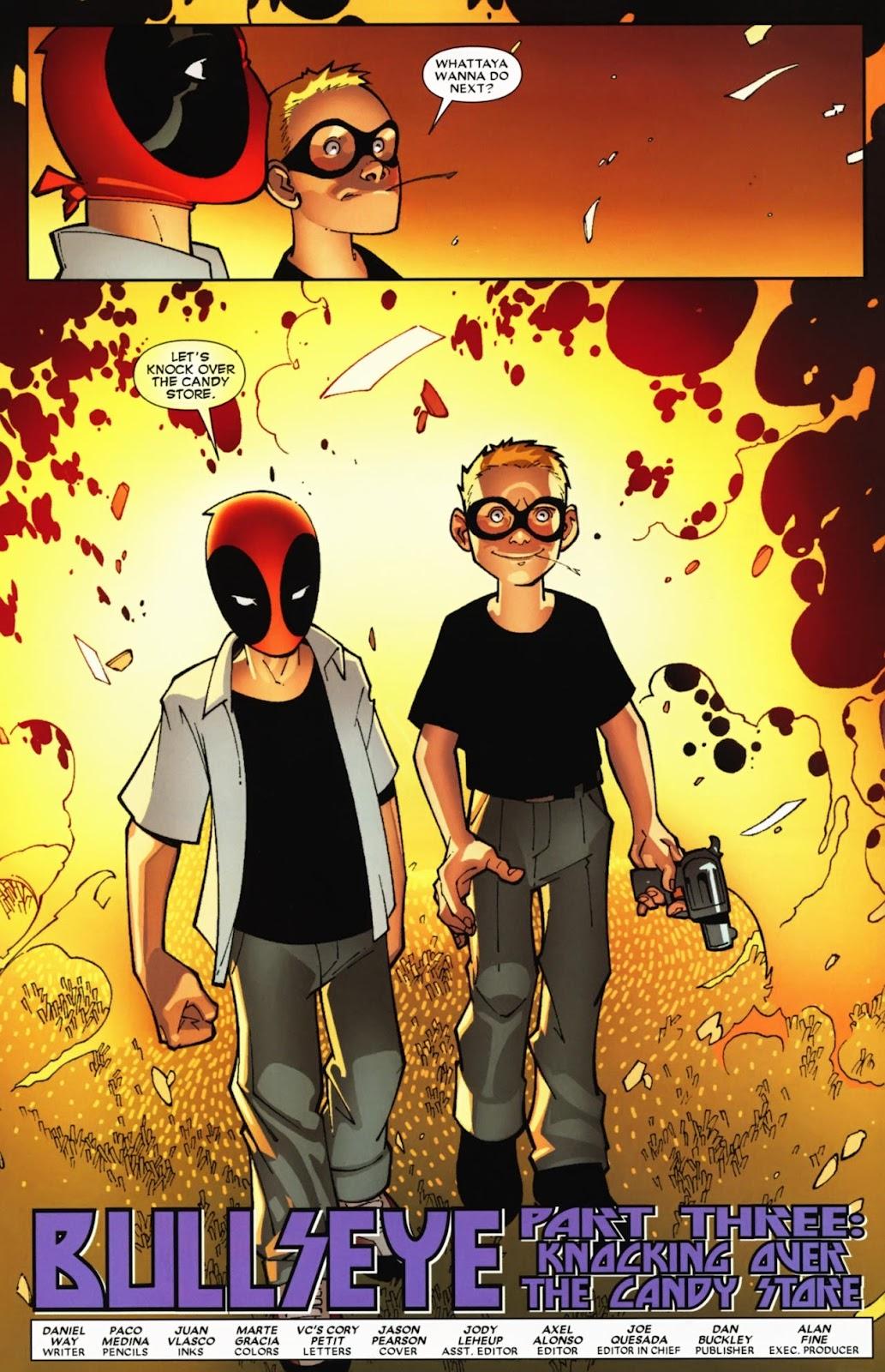 Read online Deadpool (2008) comic -  Issue #12 - 5