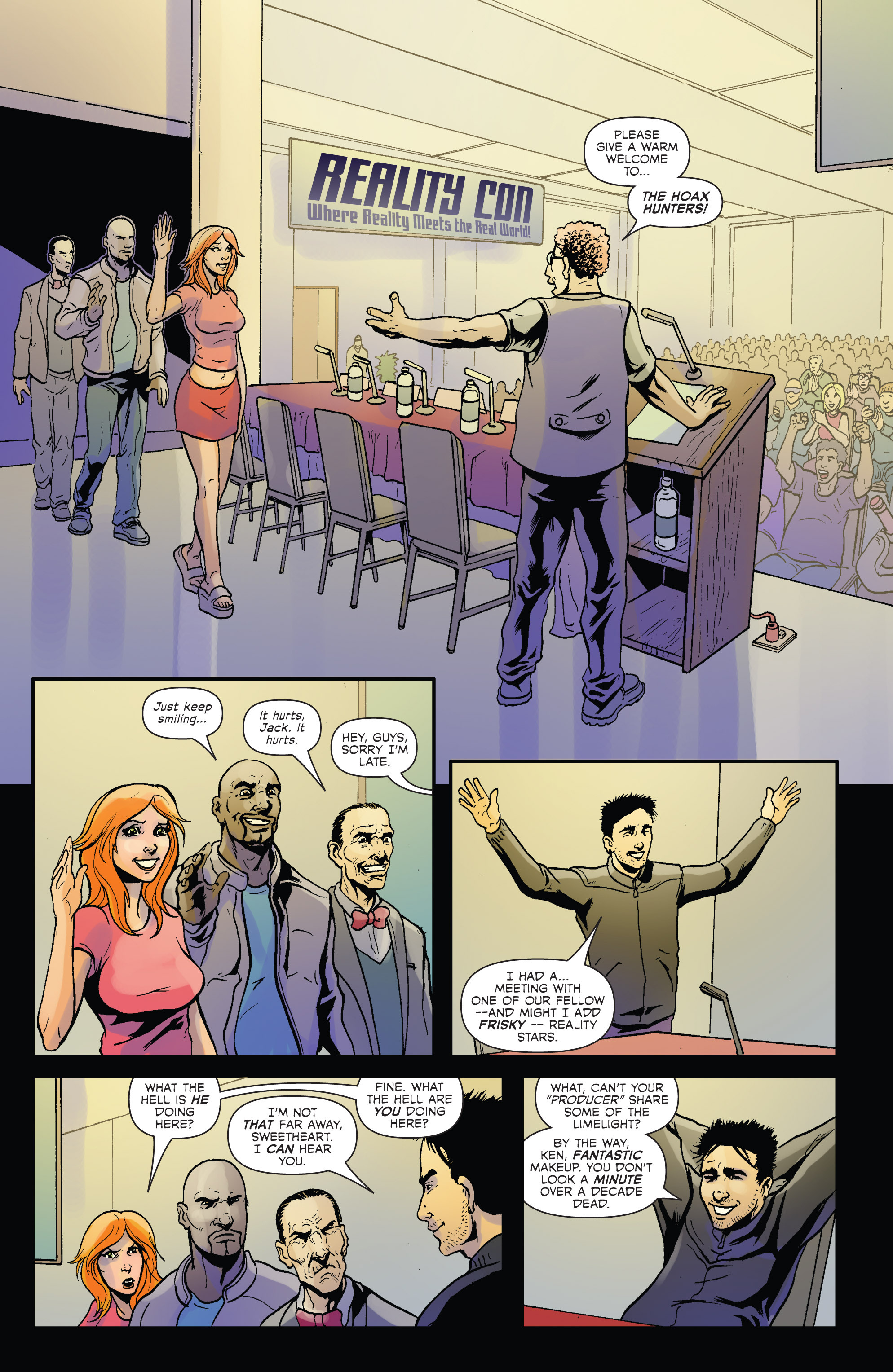 Read online Hoax Hunters (2012) comic -  Issue # TPB 2 - 12