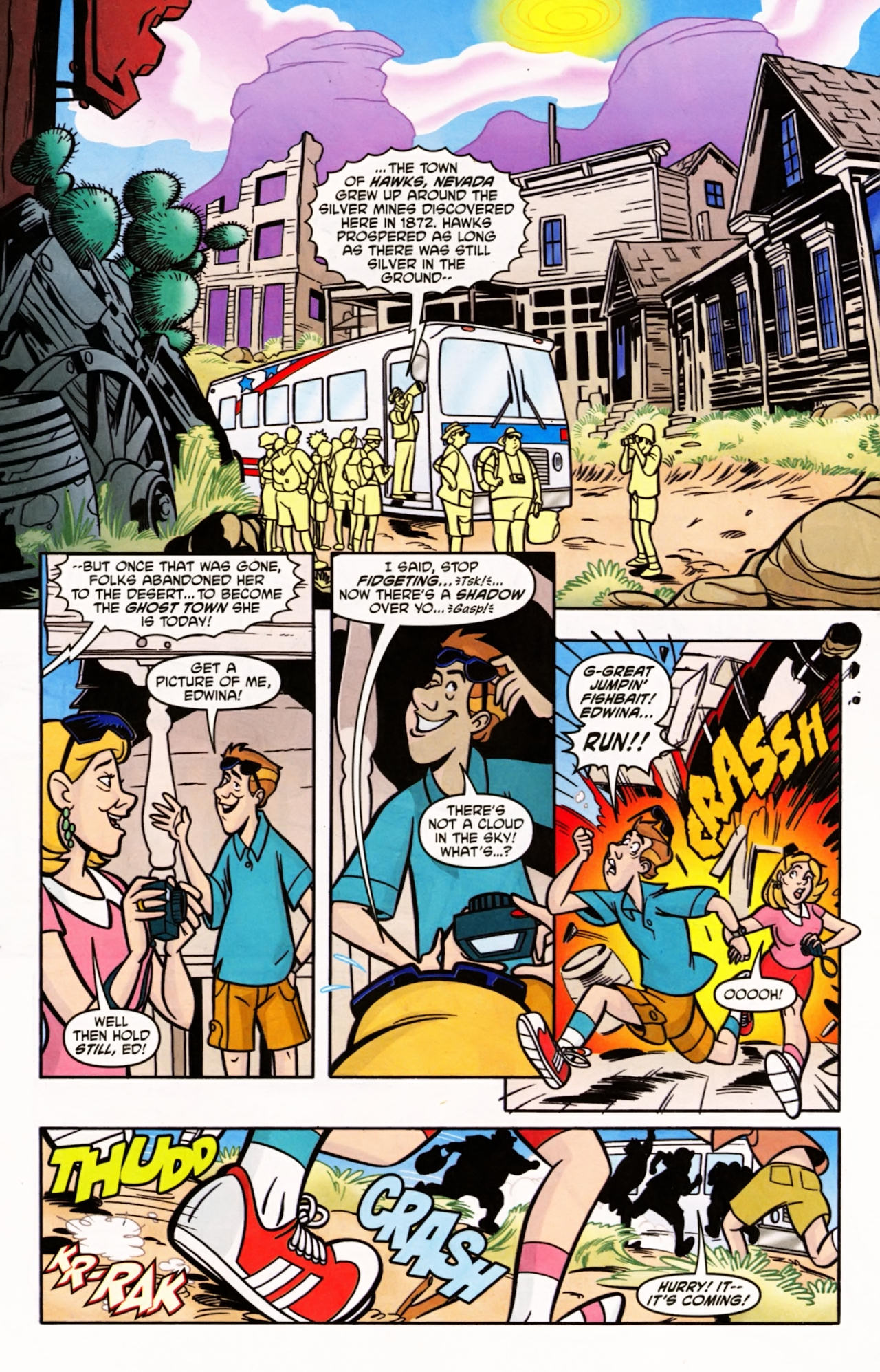 Read online Scooby-Doo (1997) comic -  Issue #149 - 2