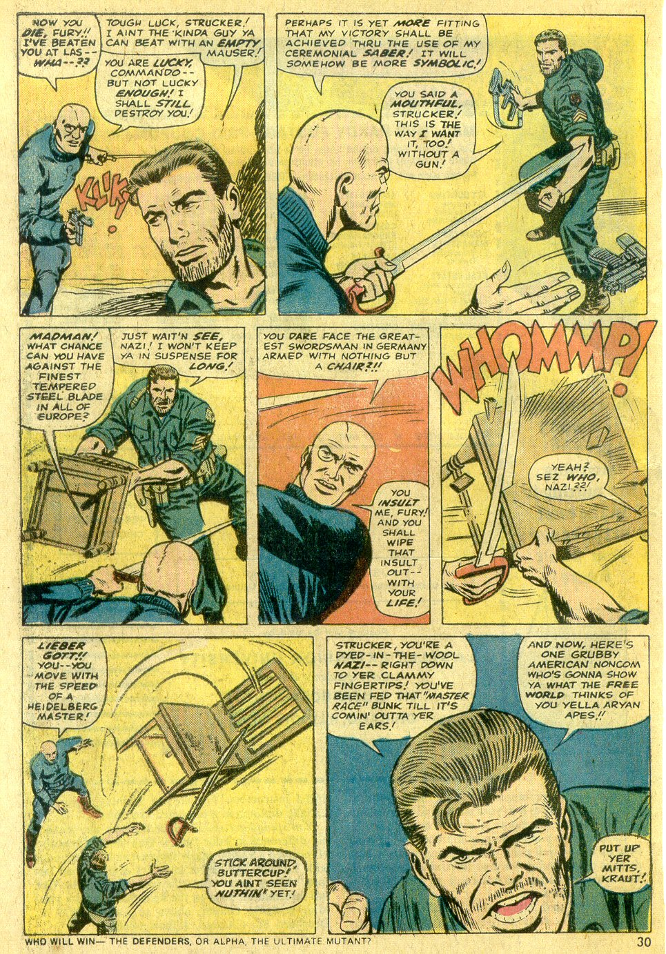 Read online Sgt. Fury comic -  Issue #122 - 32