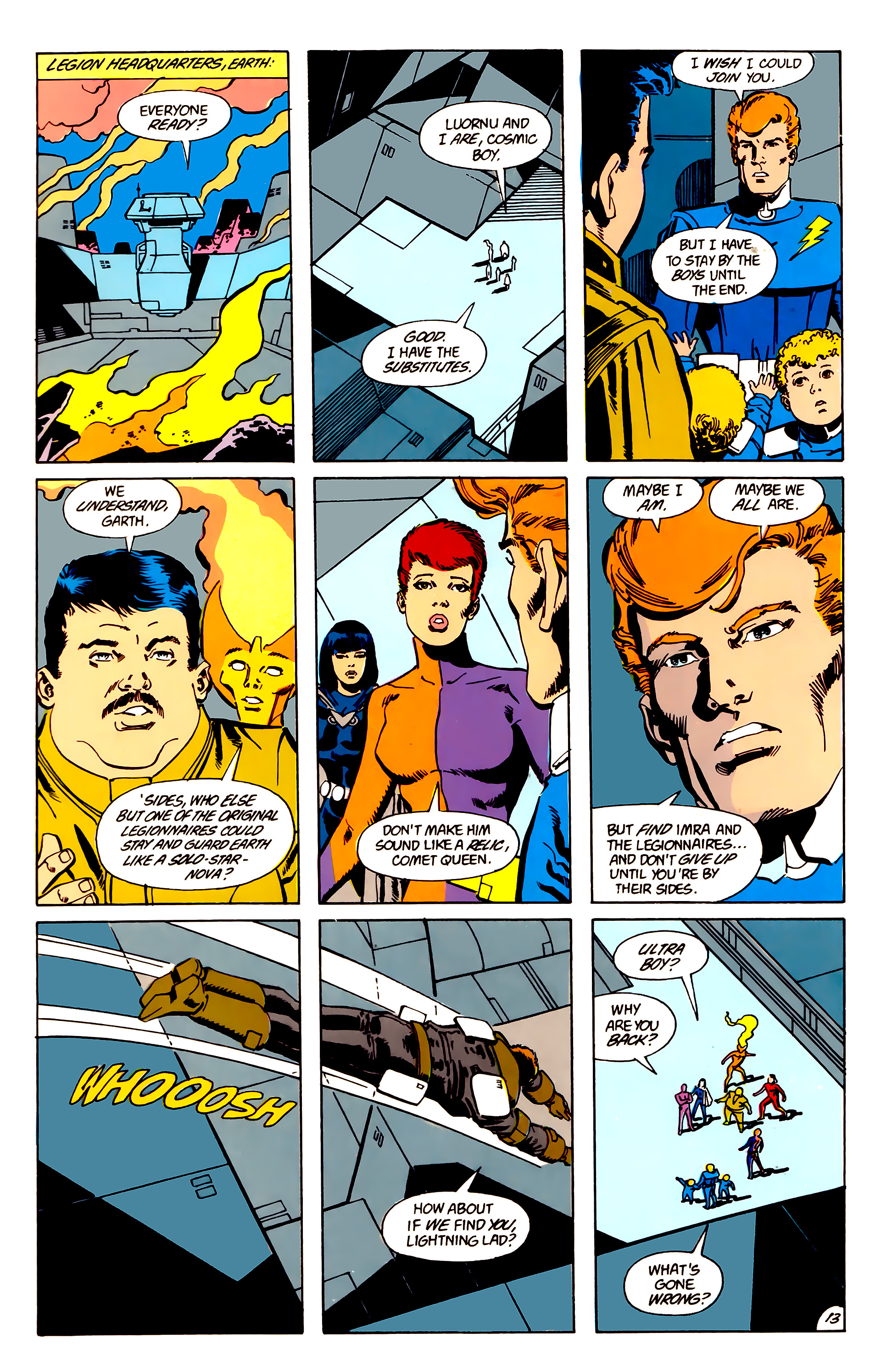 Legion of Super-Heroes (1984) 63 Page 13