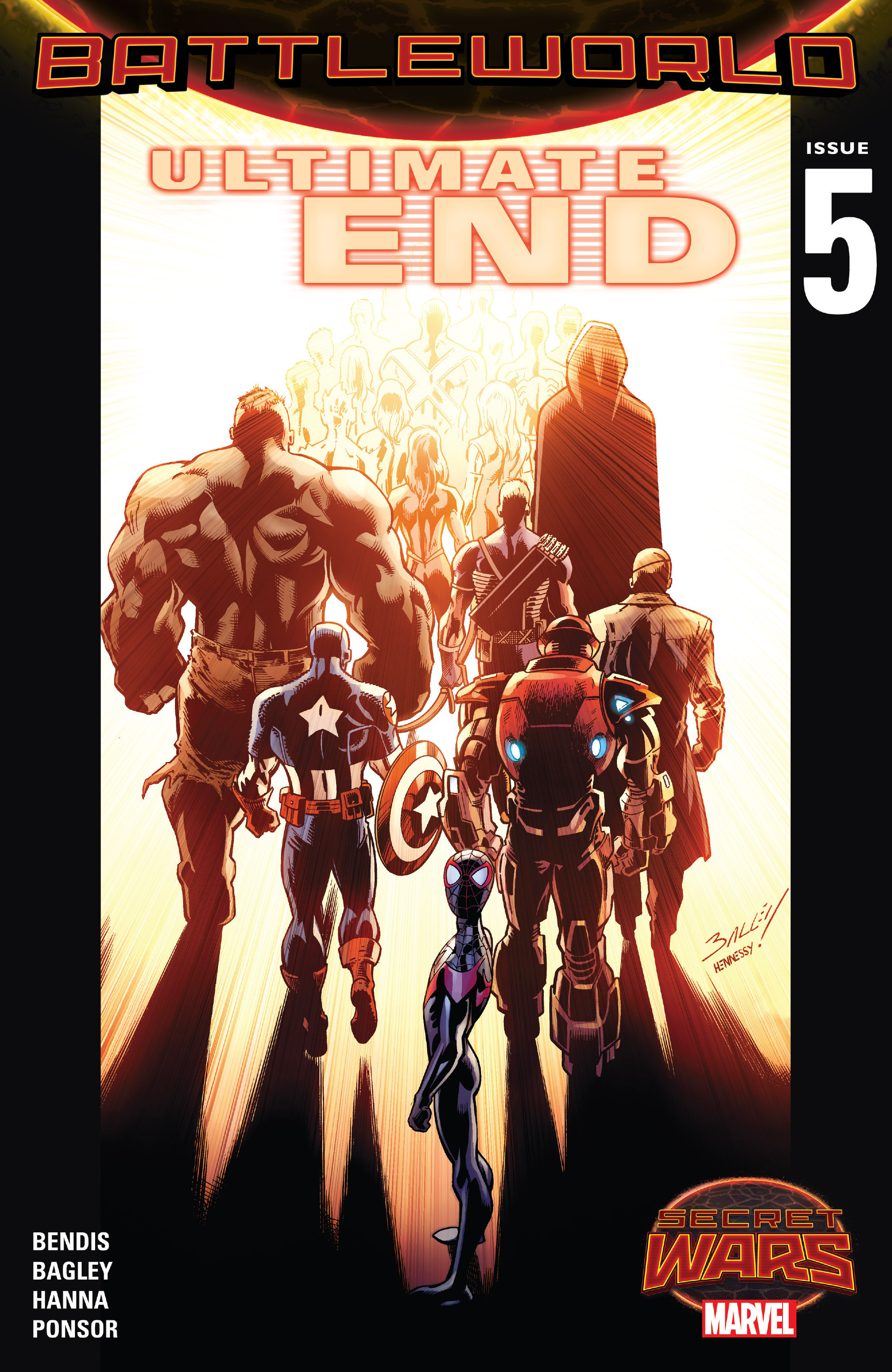 Read online Ultimate End comic -  Issue #5 - 1