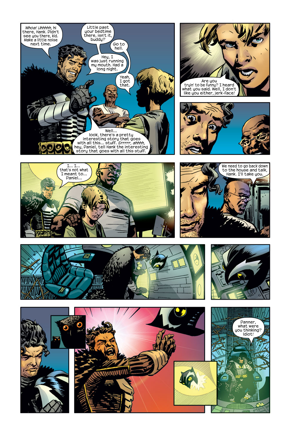 Read online Ultimate Adventures comic -  Issue #3 - 9