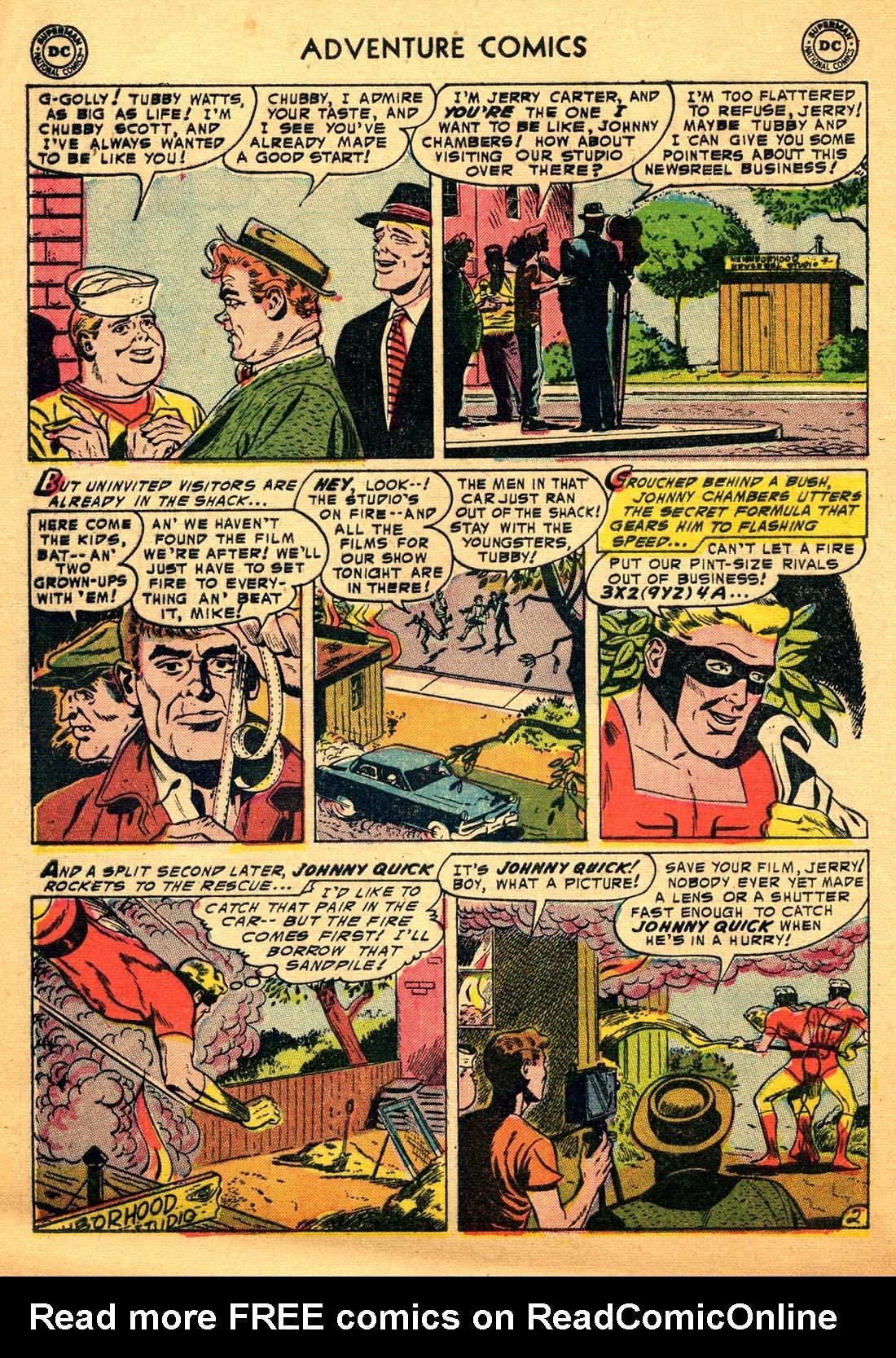 Read online Adventure Comics (1938) comic -  Issue #206 - 28