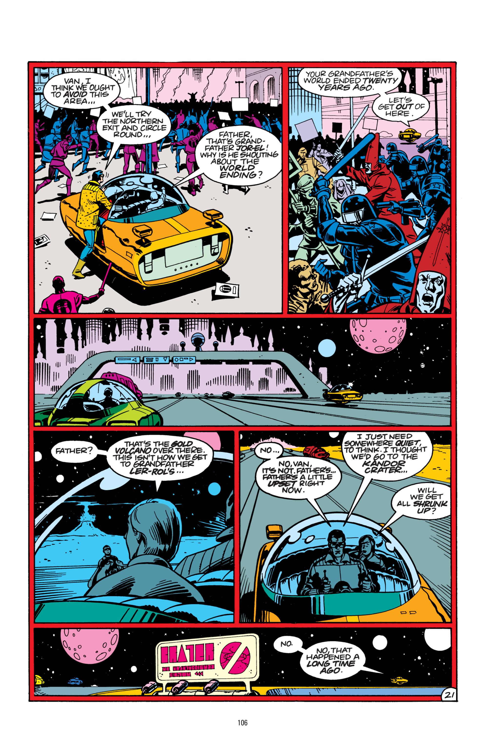 Read online Superman: Whatever Happened to the Man of Tomorrow? comic -  Issue # TPB - 105
