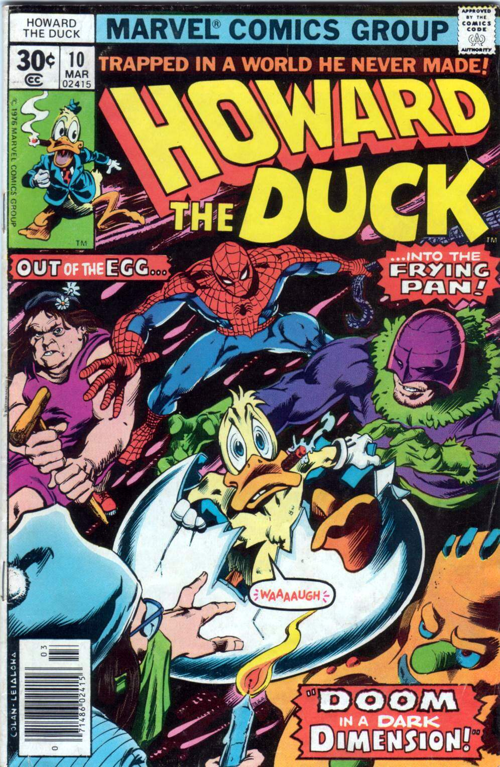 Howard the Duck (1976) Issue #10 #11 - English 1