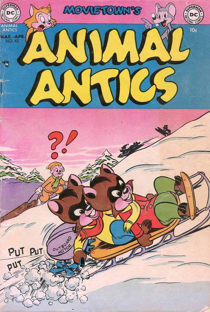 Read online Animal Antics comic -  Issue #43 - 1