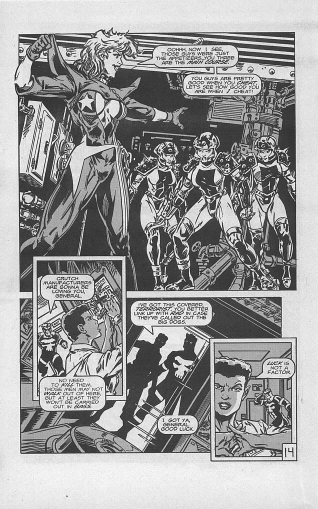 Femforce Issue #94 #94 - English 16