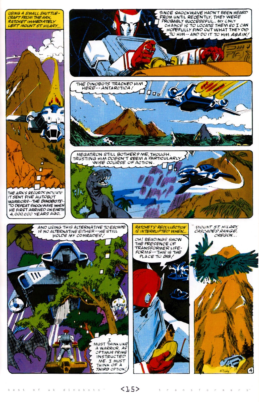 Read online The Transformers: Best of UK: Dinobots comic -  Issue #6 - 18