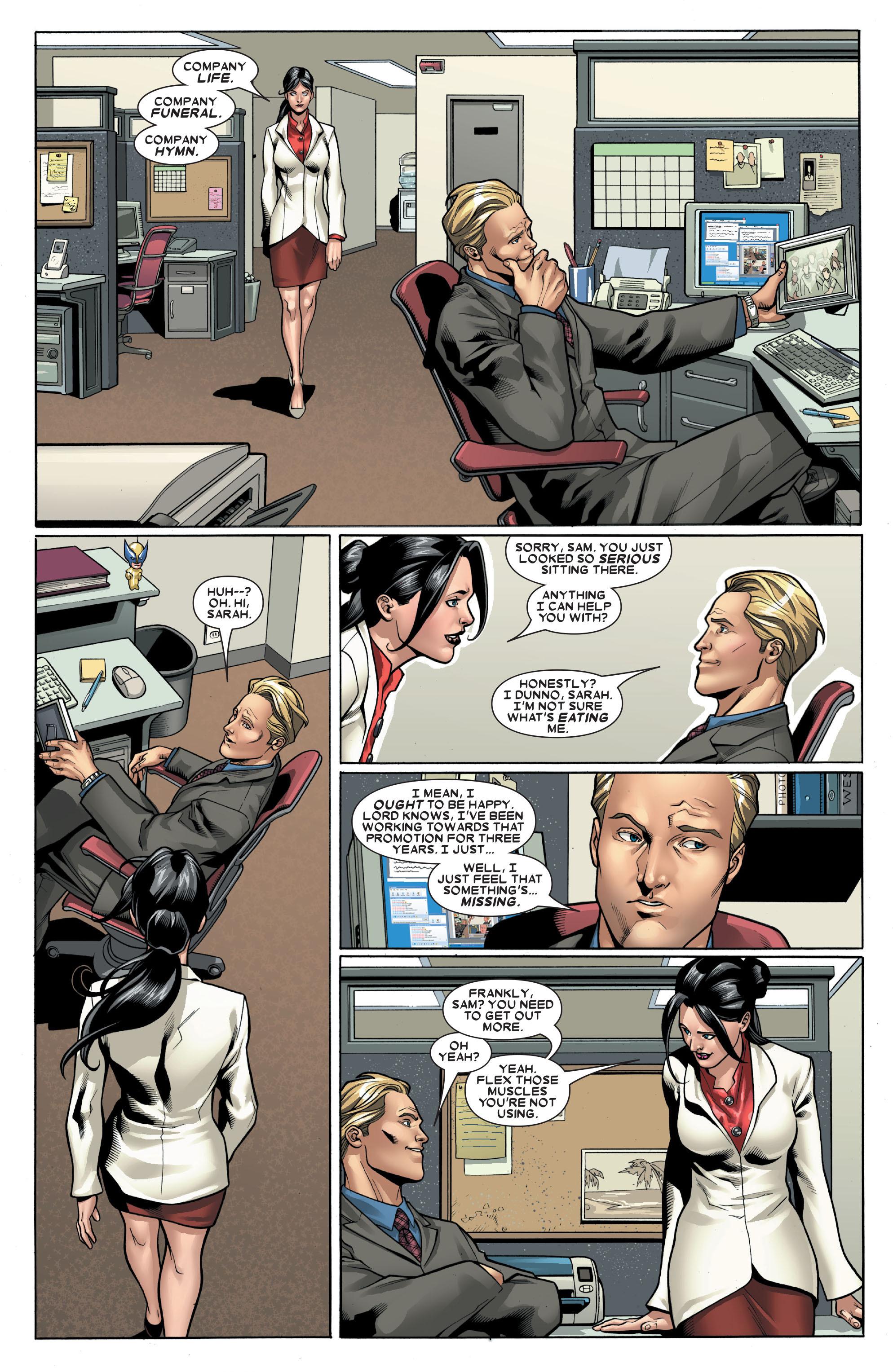 X-Men (1991) 191 Page 1